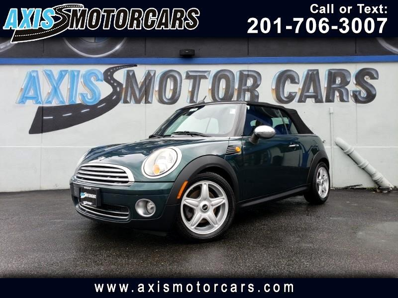 2010 MINI Cooper Convertible 2dr