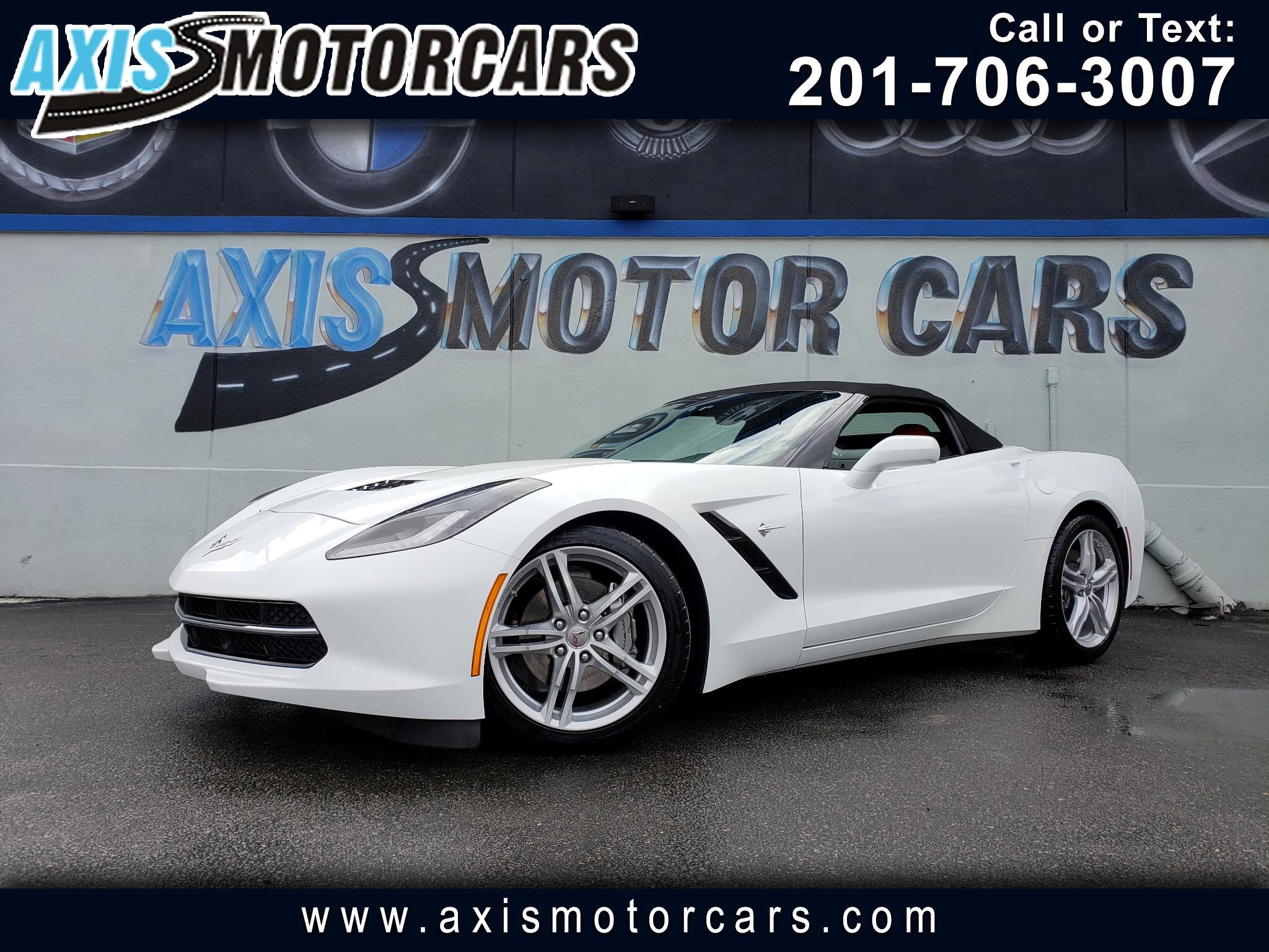 2017 Chevrolet Corvette 2dr Stingray Conv w/1LT