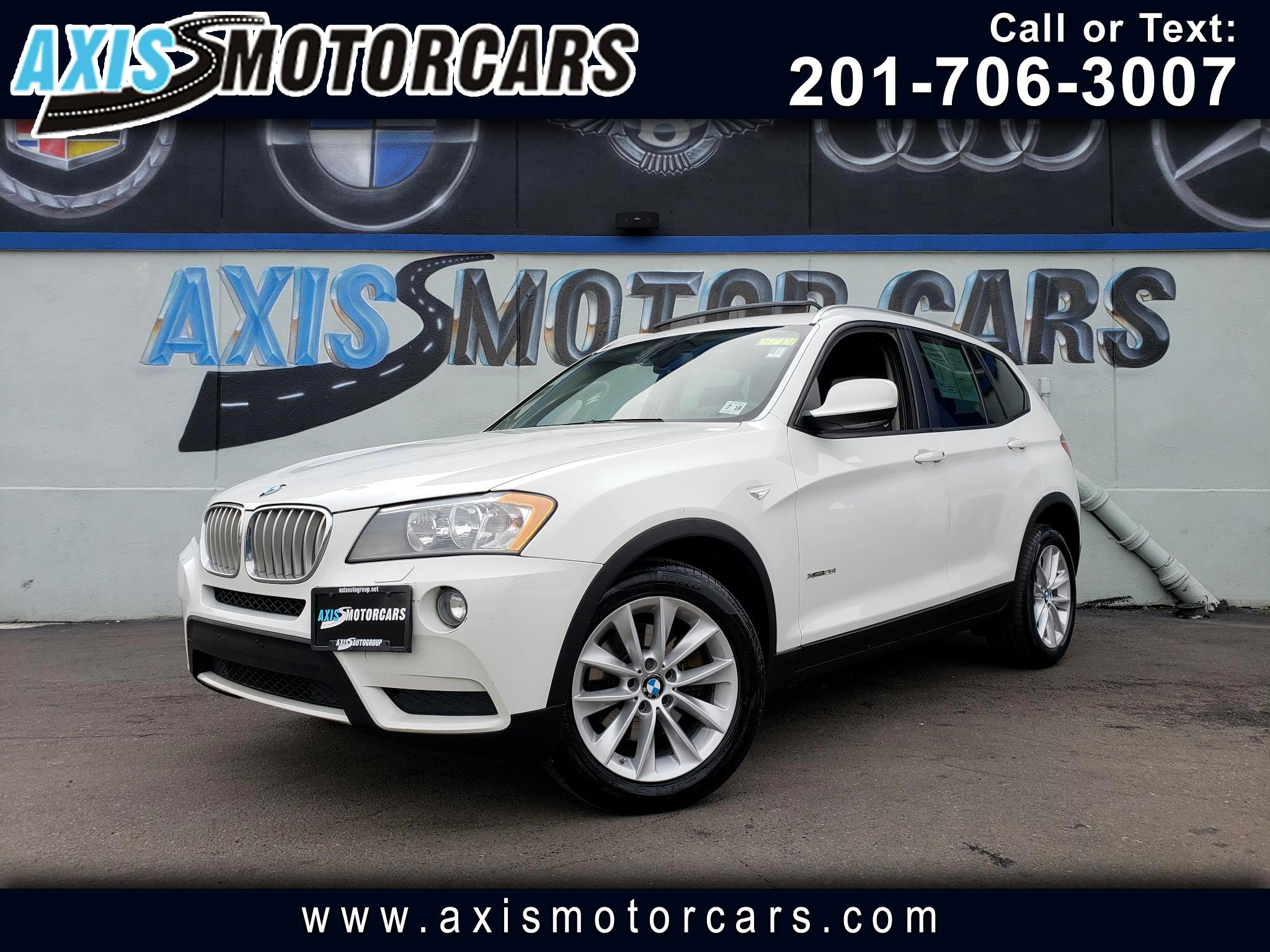 2014 BMW X3 w/Navigation Panoramic Roof