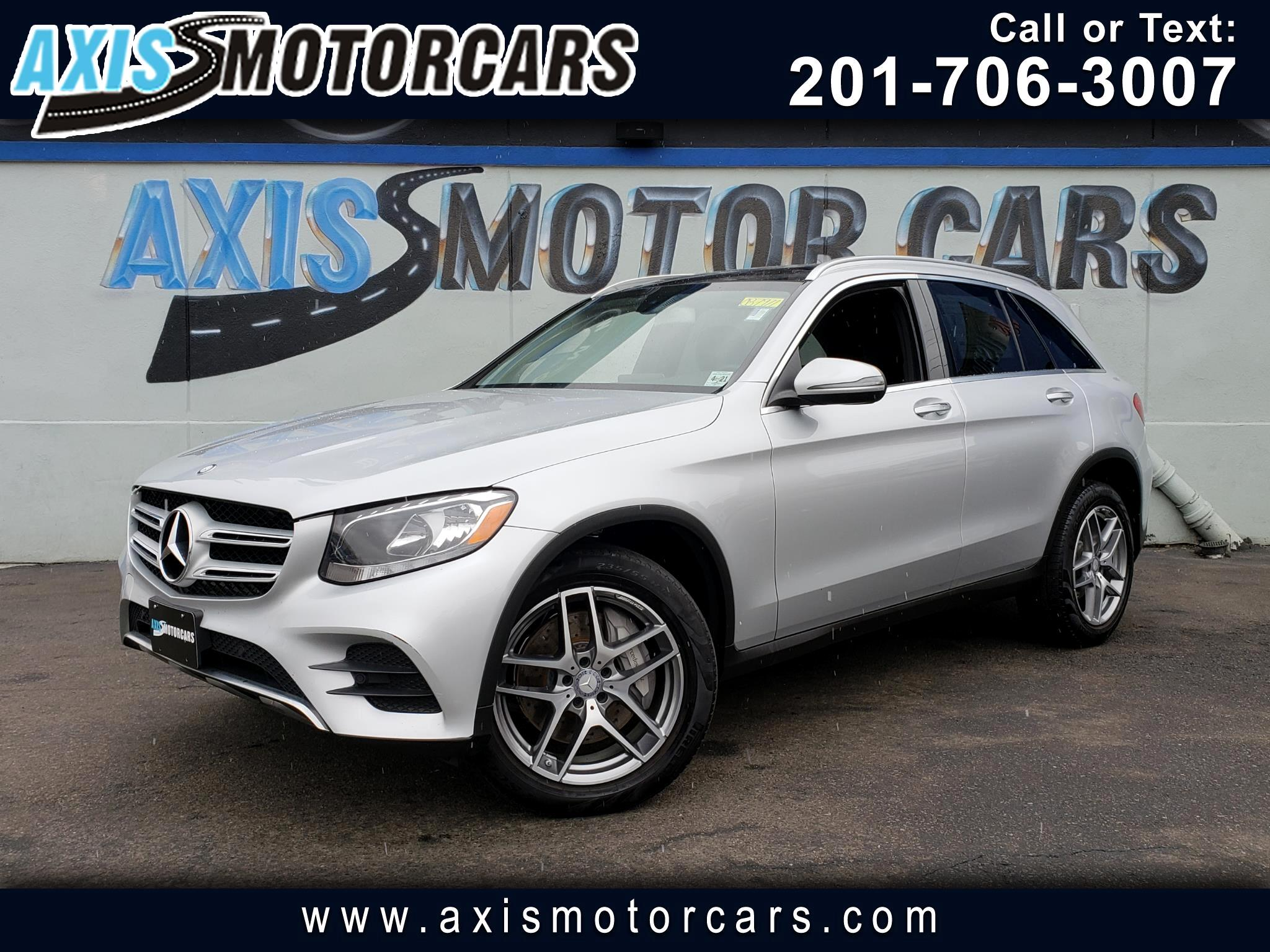 2016 Mercedes-Benz GLC 300 4MATIC w/Burmester Surround Sound System