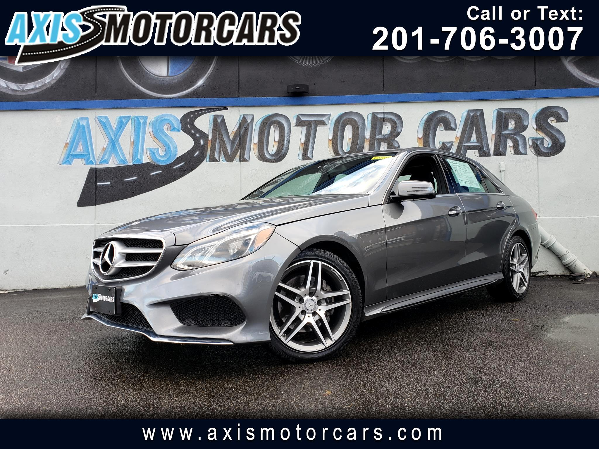 2016 Mercedes-Benz E350 4 MATIC