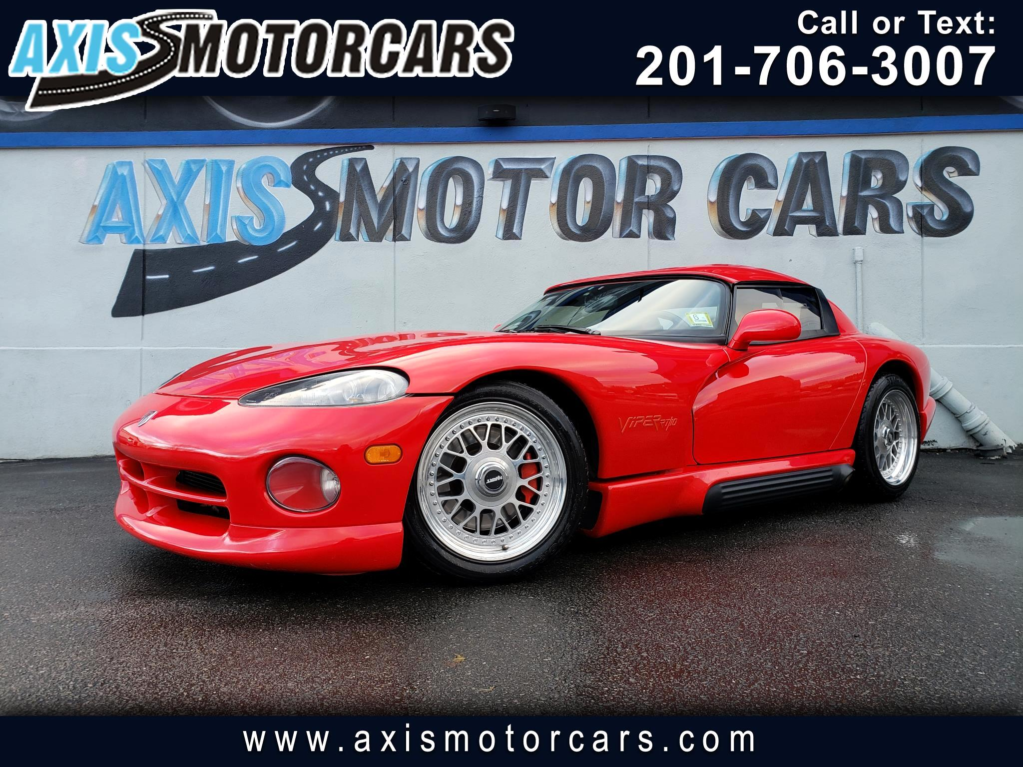 1994 Dodge Viper Classic 2 Door Roe Supercharger