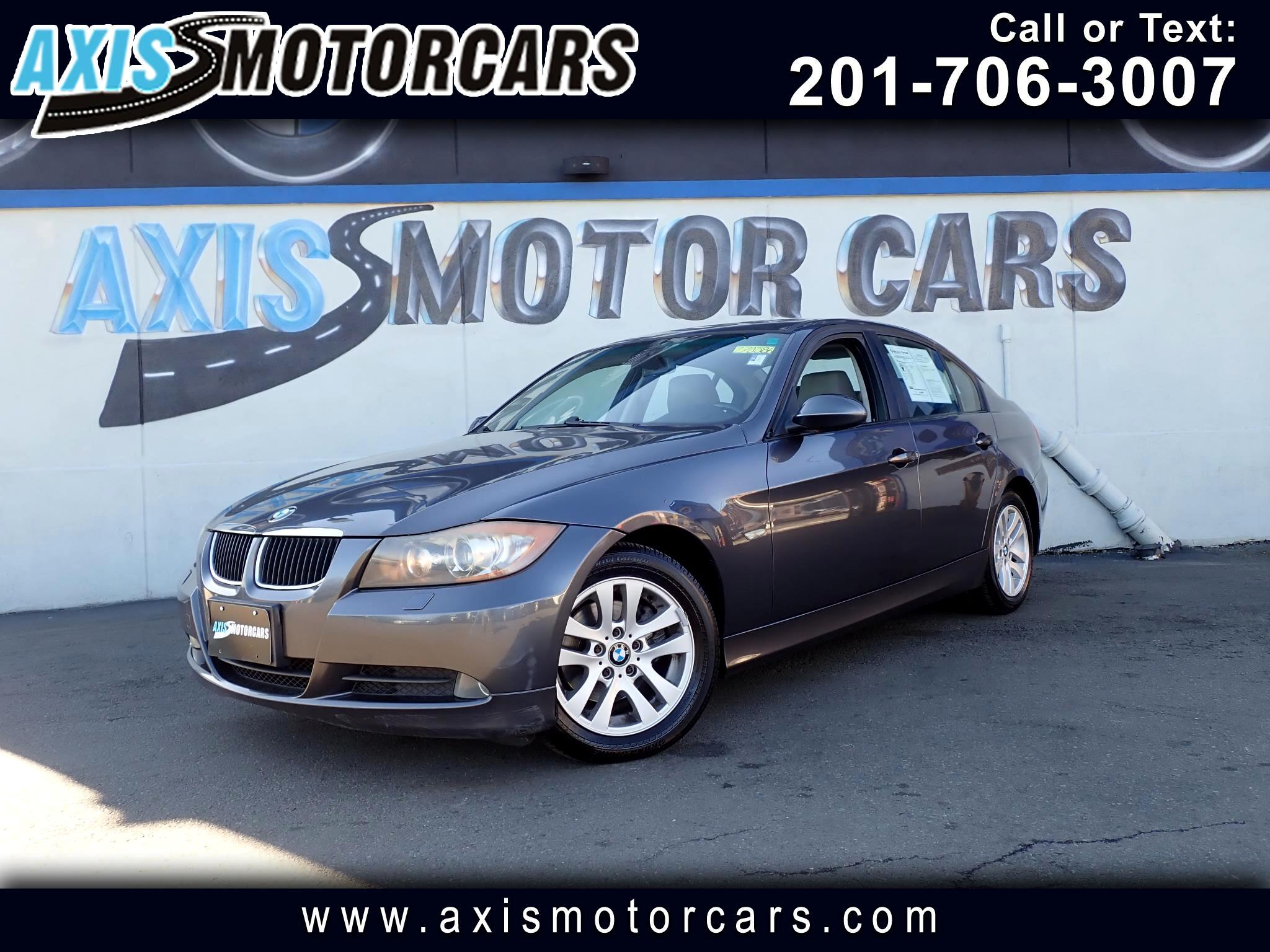 2007 BMW 328xi 4dr w/Sun Roof Leather