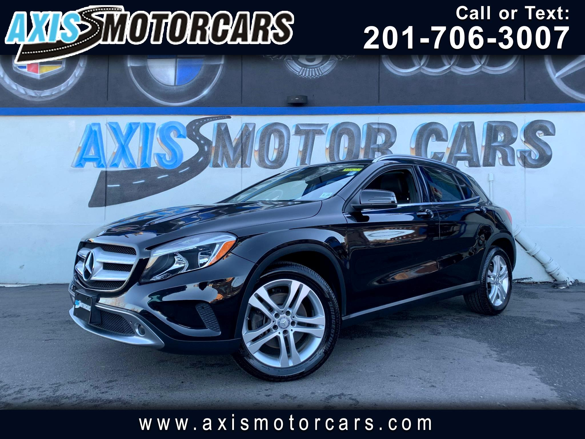 2015 Mercedes-Benz GLA 250 4MATIC w/Navigation Panoramic Roof