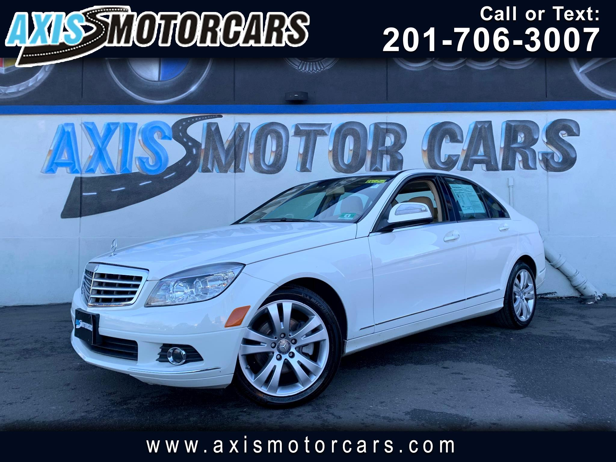 2008 Mercedes-Benz C-Class C300 4MATIC w/Sun Roof Leather