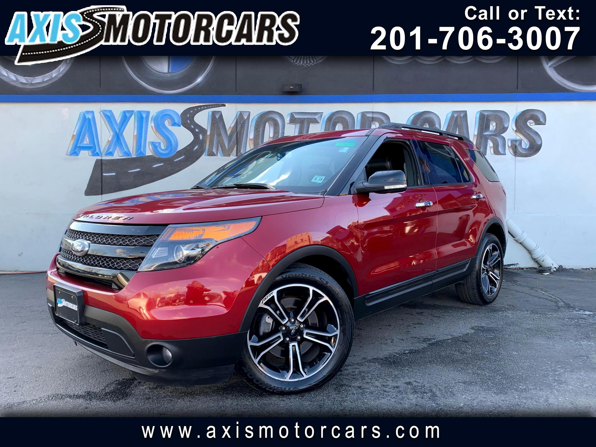 2014 Ford Explorer Sport w/Navigation Backup Camera Panoramic Roof