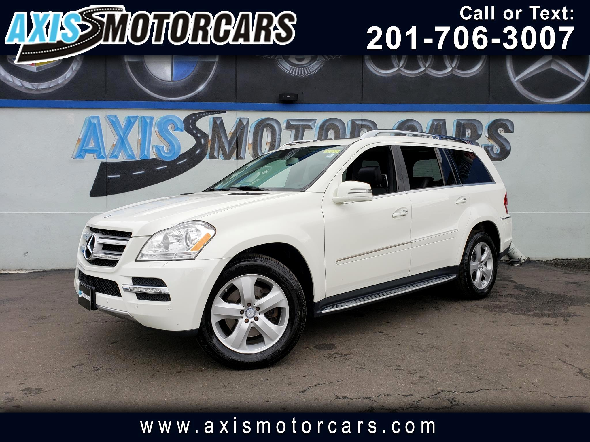 2012 Mercedes-Benz GL 450 w/Navigation Rear Entertainment System