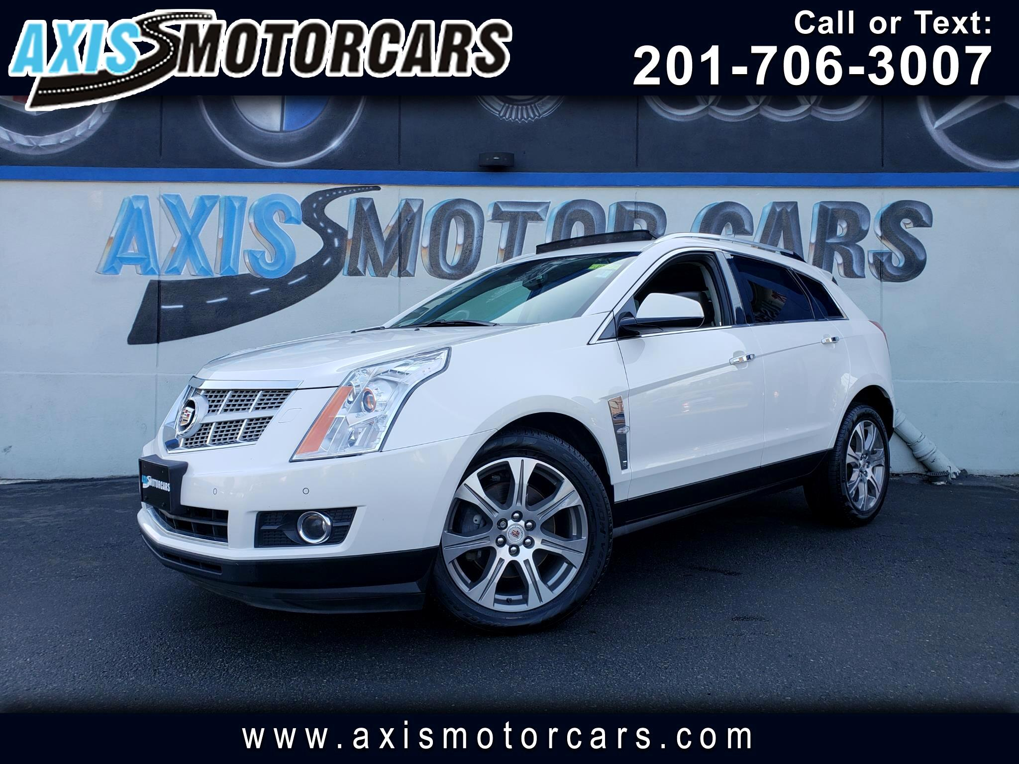 2012 Cadillac SRX PREMIUM COLLECTION w/ Rear Entertainment