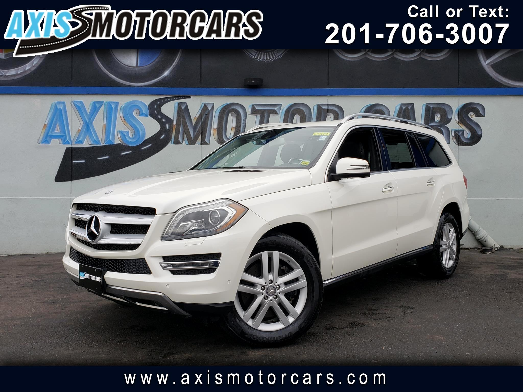 2013 Mercedes-Benz GL 450 4MATIC w/Navigation Bakup Camera Sun Roof
