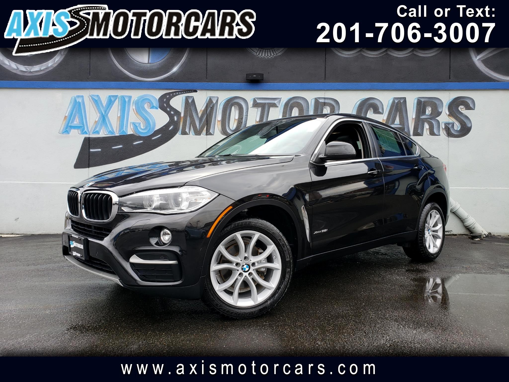 2016 BMW X6 xDrive35i w/Navigation Bakup Camera Sun Roof
