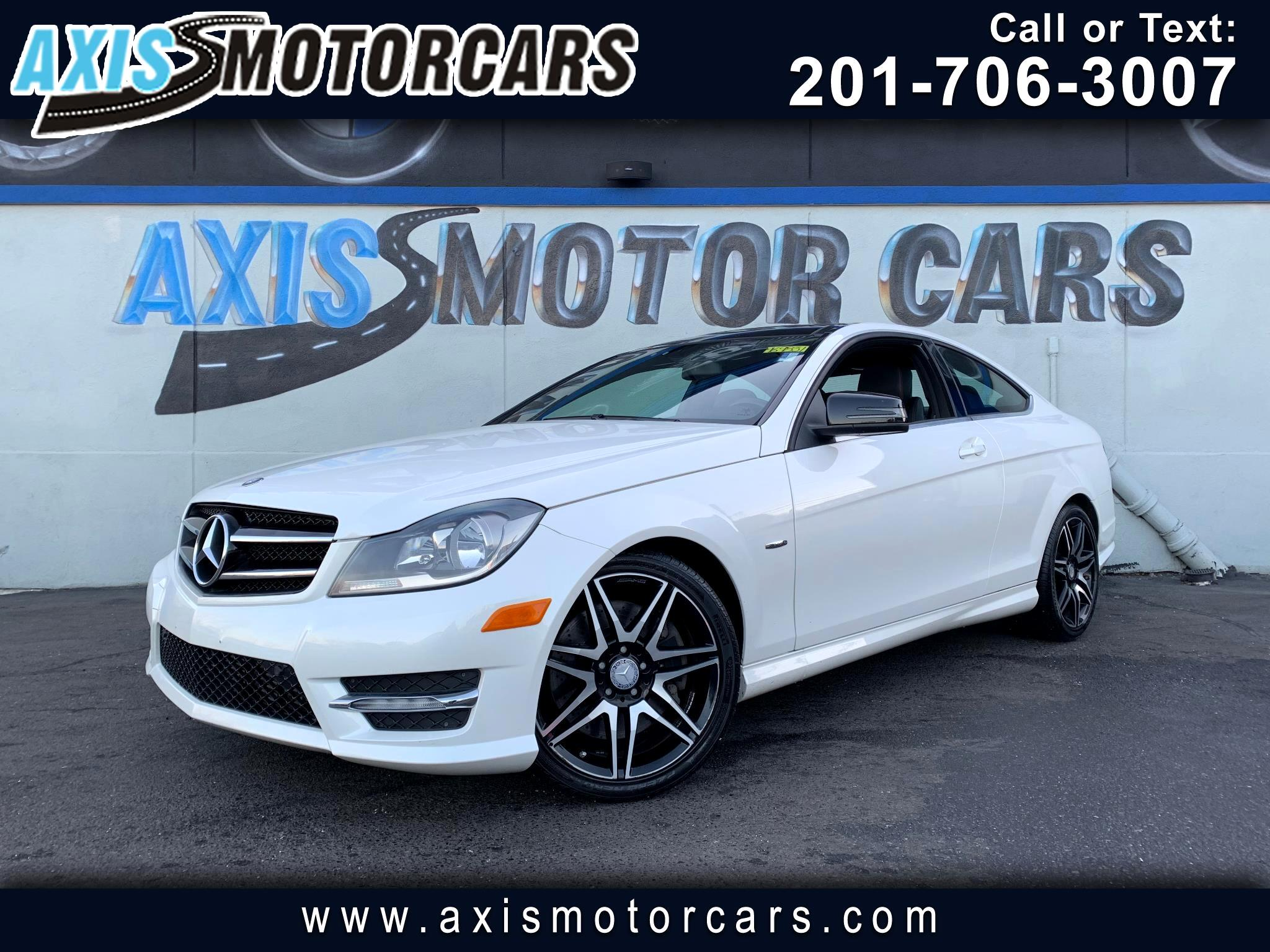 2013 Mercedes-Benz C-Class C250 Coupe w/Panoramic Roof