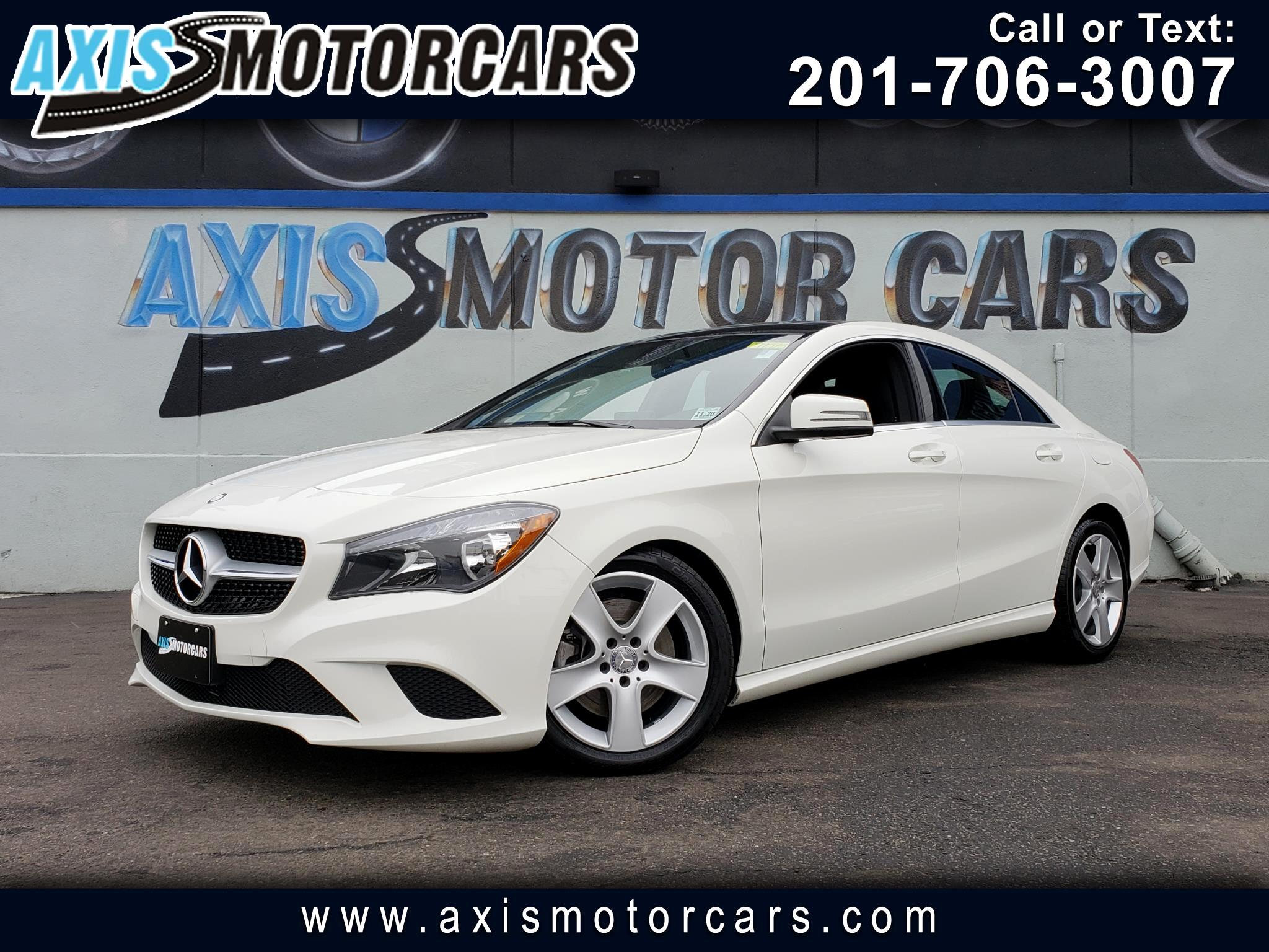 2016 Mercedes-Benz CLA 250 4MATIC w/Navigation Sun Roof