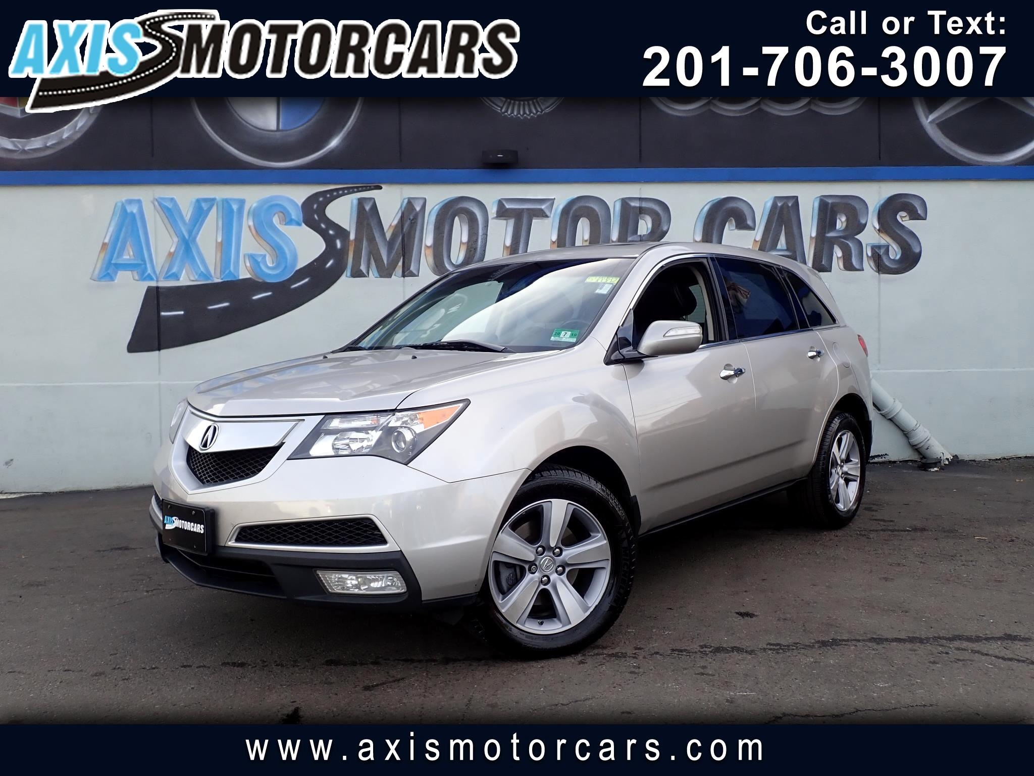 2012 Acura MDX Technology w/Navigation Bakup Camera Sun Roof