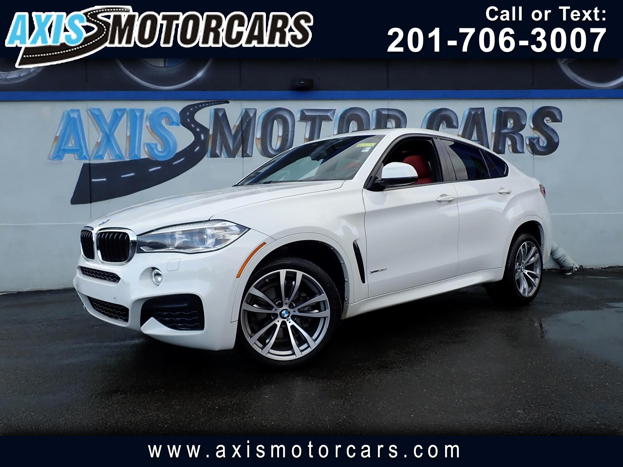 2016 BMW X6 pkg w/Navigation Drivers Assist Sun Roof