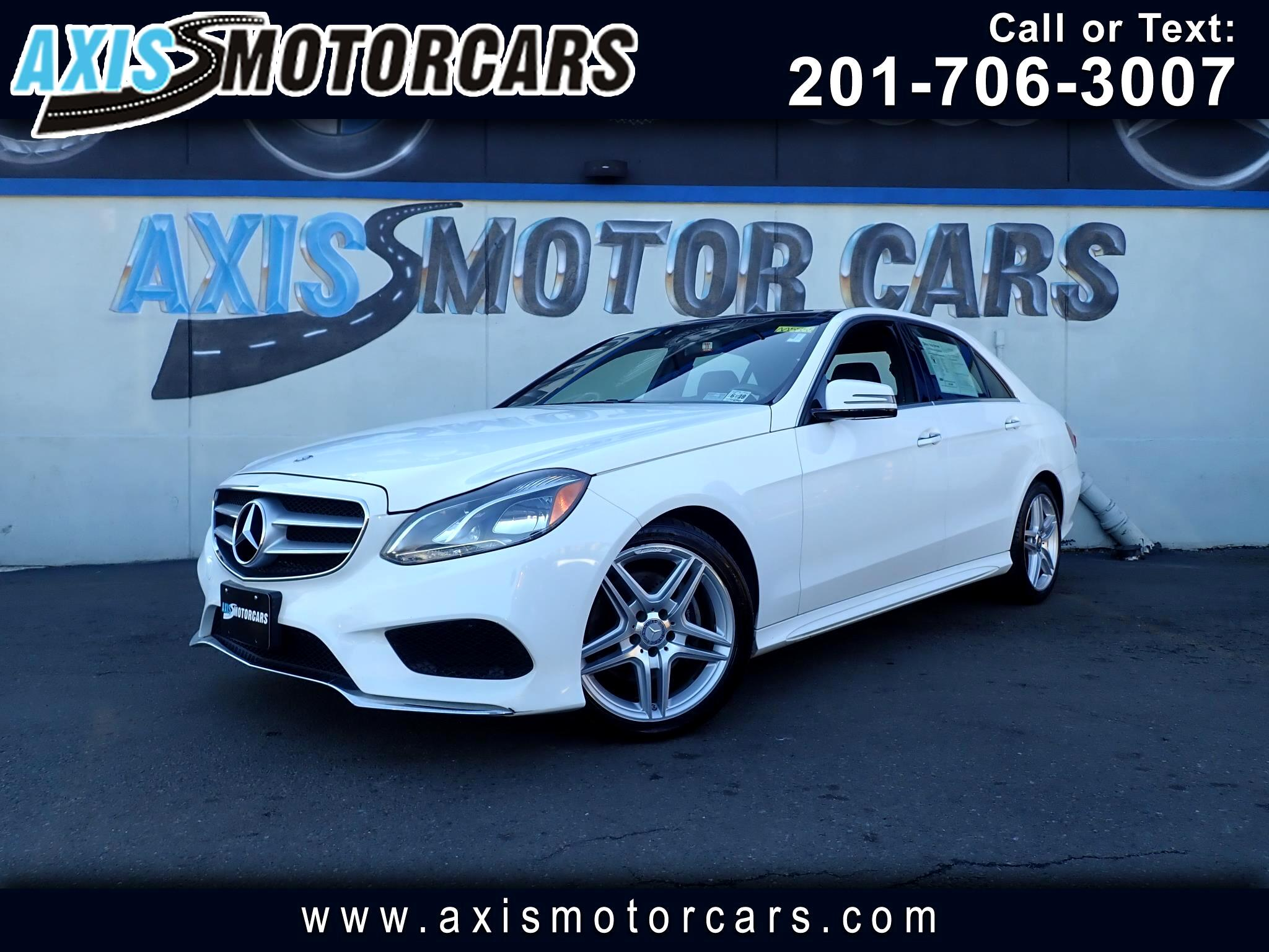 2014 Mercedes-Benz E350 4MATIC w/Harman Kardon Premium Sound System