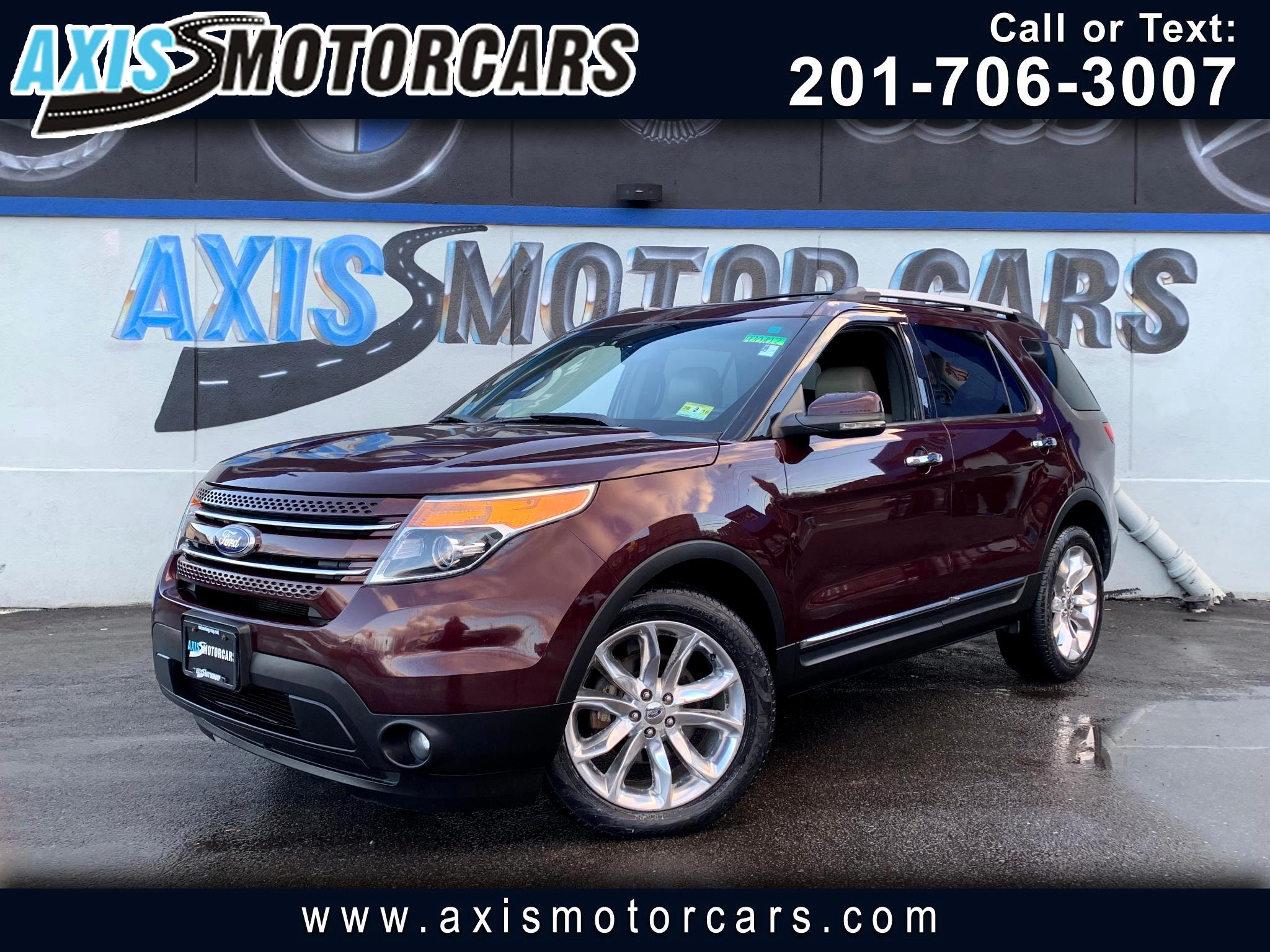 2011 Ford Explorer Limited w/Navigation Bakup Camera Panoramic Roof