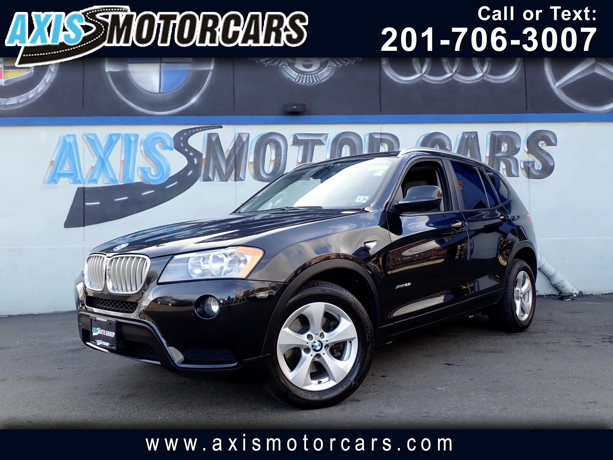 2012 BMW X3 w/Panoramic Roof Leather