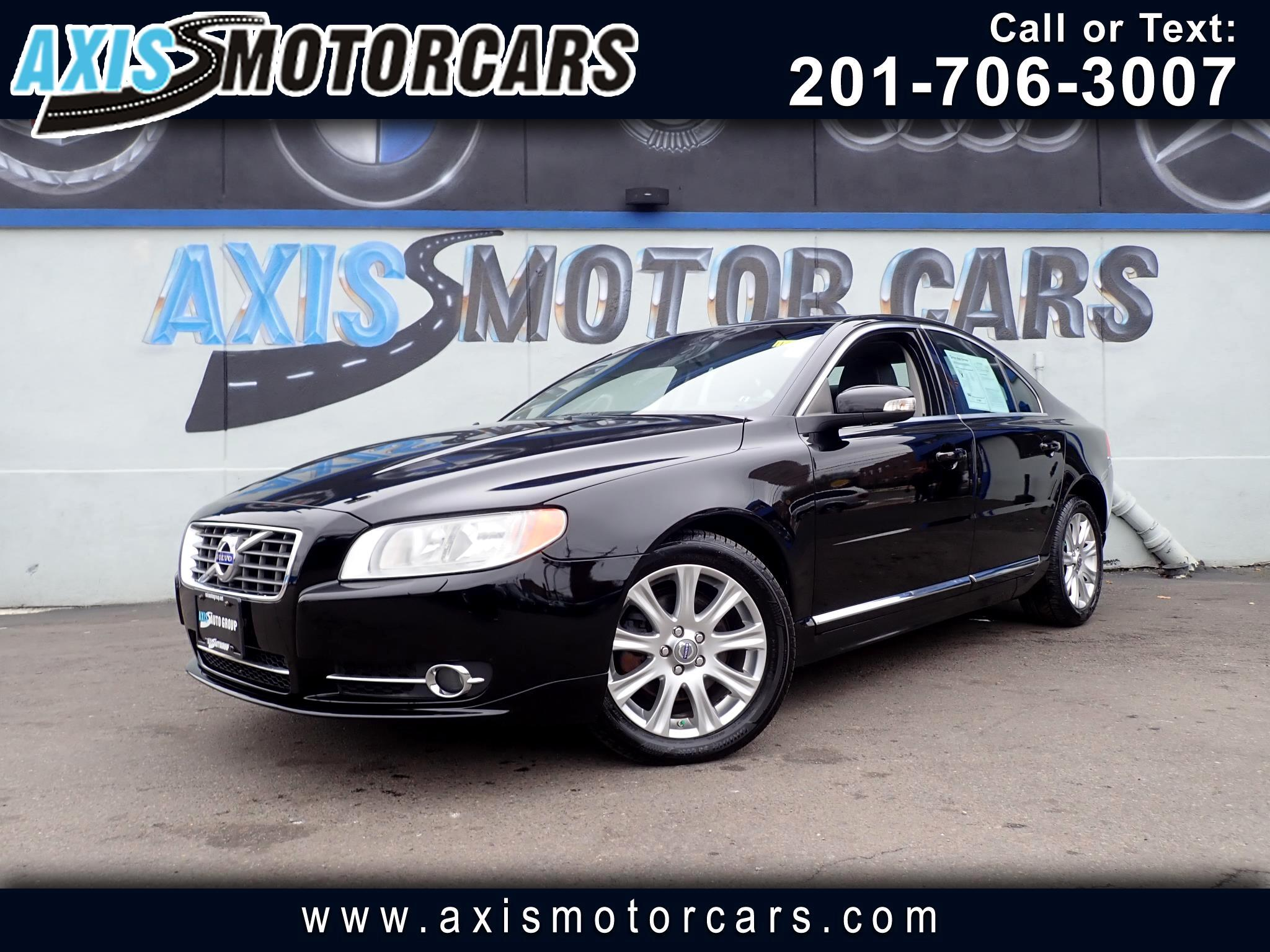 2010 Volvo S80 3.2 w/Rear Entertainment System Sun Roof