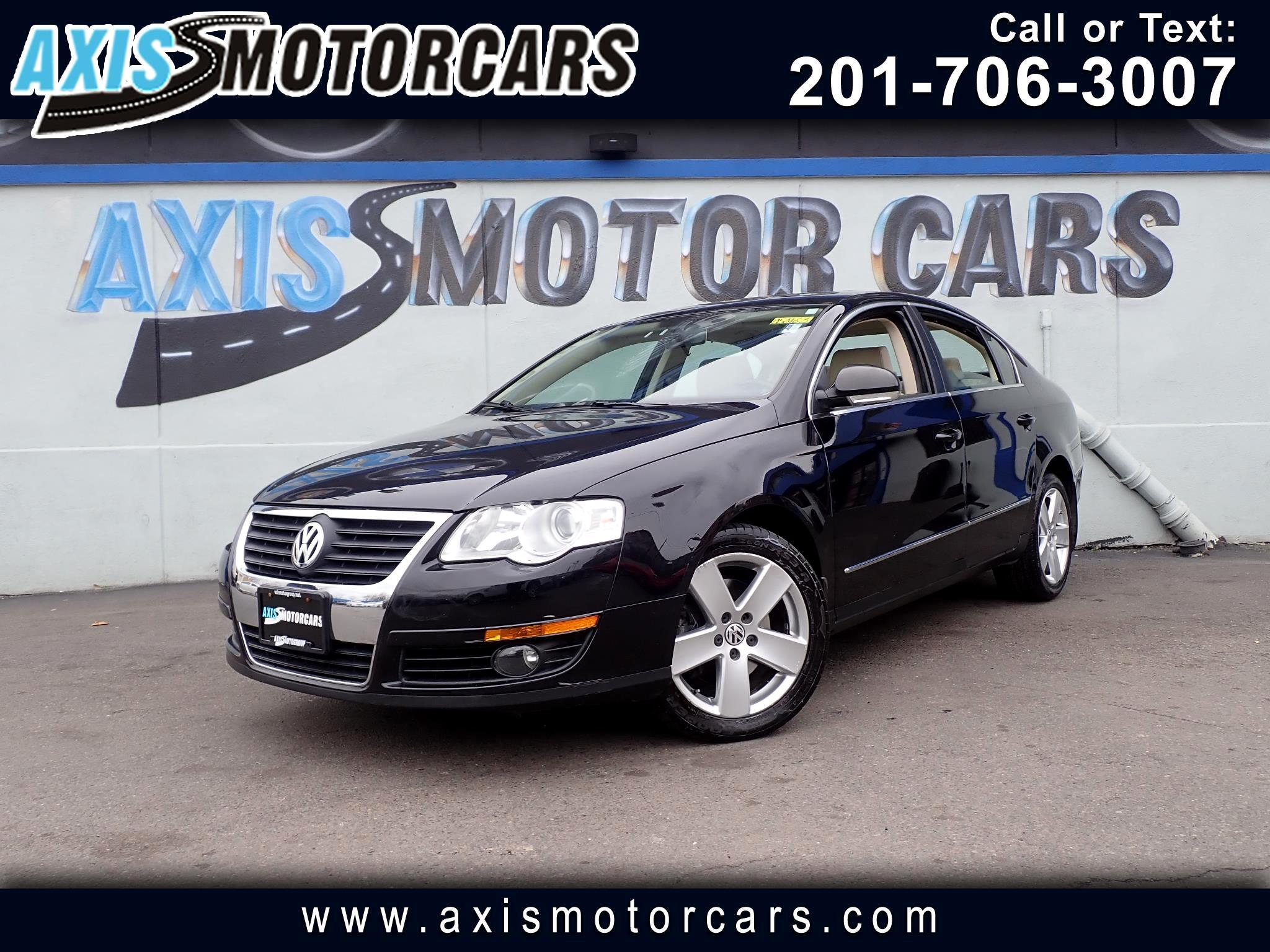 2009 Volkswagen Passat Sedan Auto Turbo  w/Rear Entertainment System