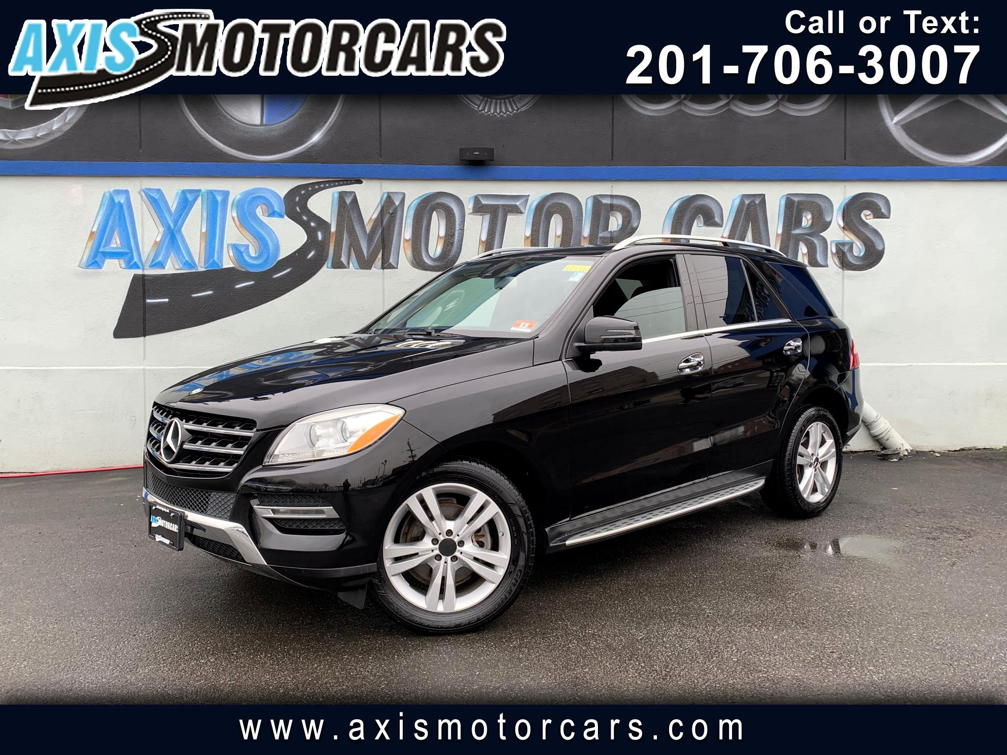 2013 Mercedes-Benz ML350 4MATIC w/Harman Kardon Sound System Navigation