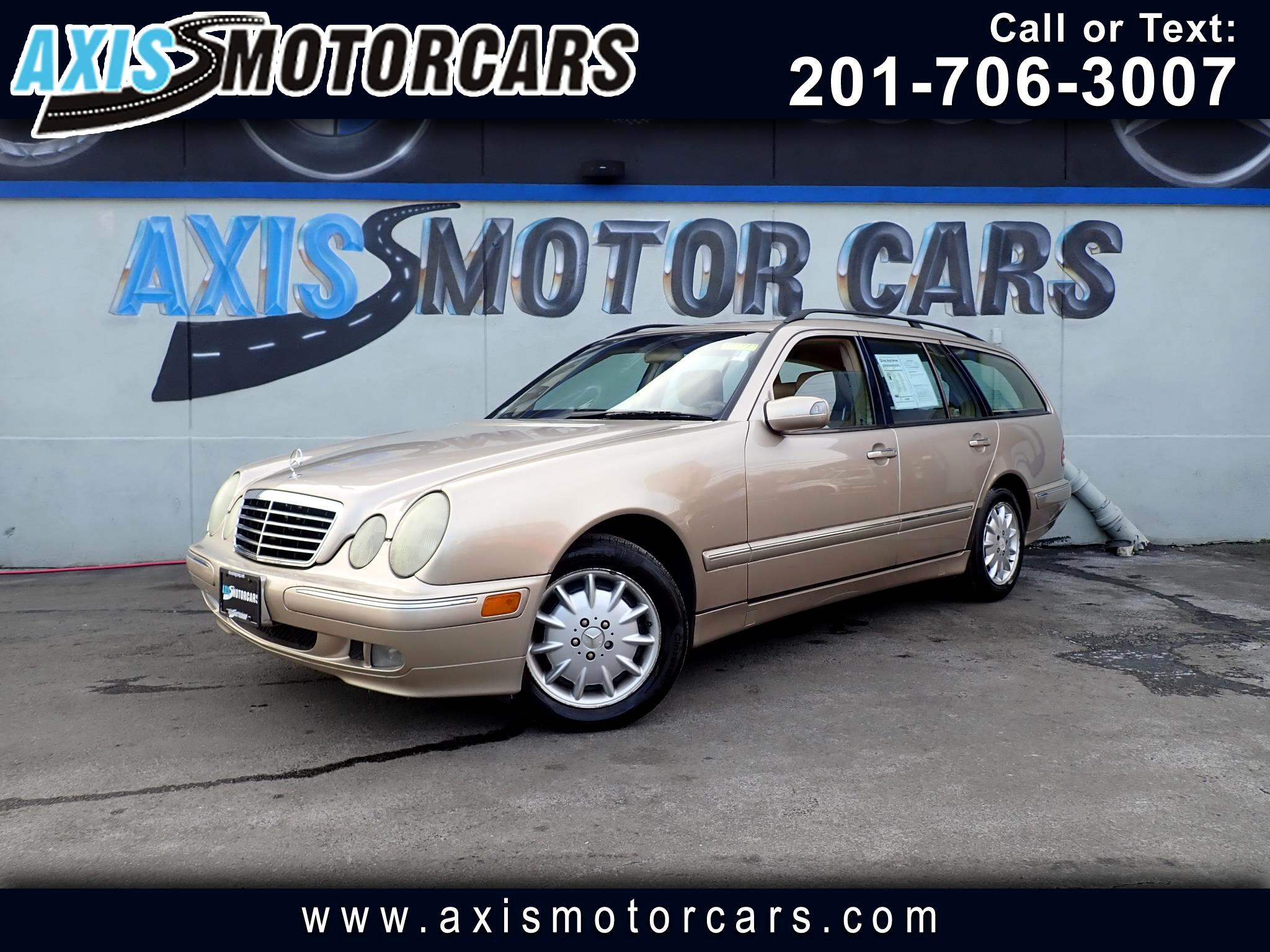 2000 Mercedes-Benz E-Class E320 4MATIC Wgn w/Sunroof