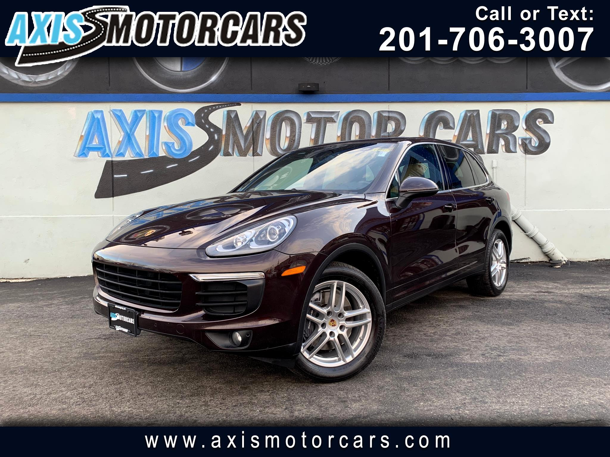 2016 Porsche Cayenne w/Navigation Bakup Camera Panoramic Roof