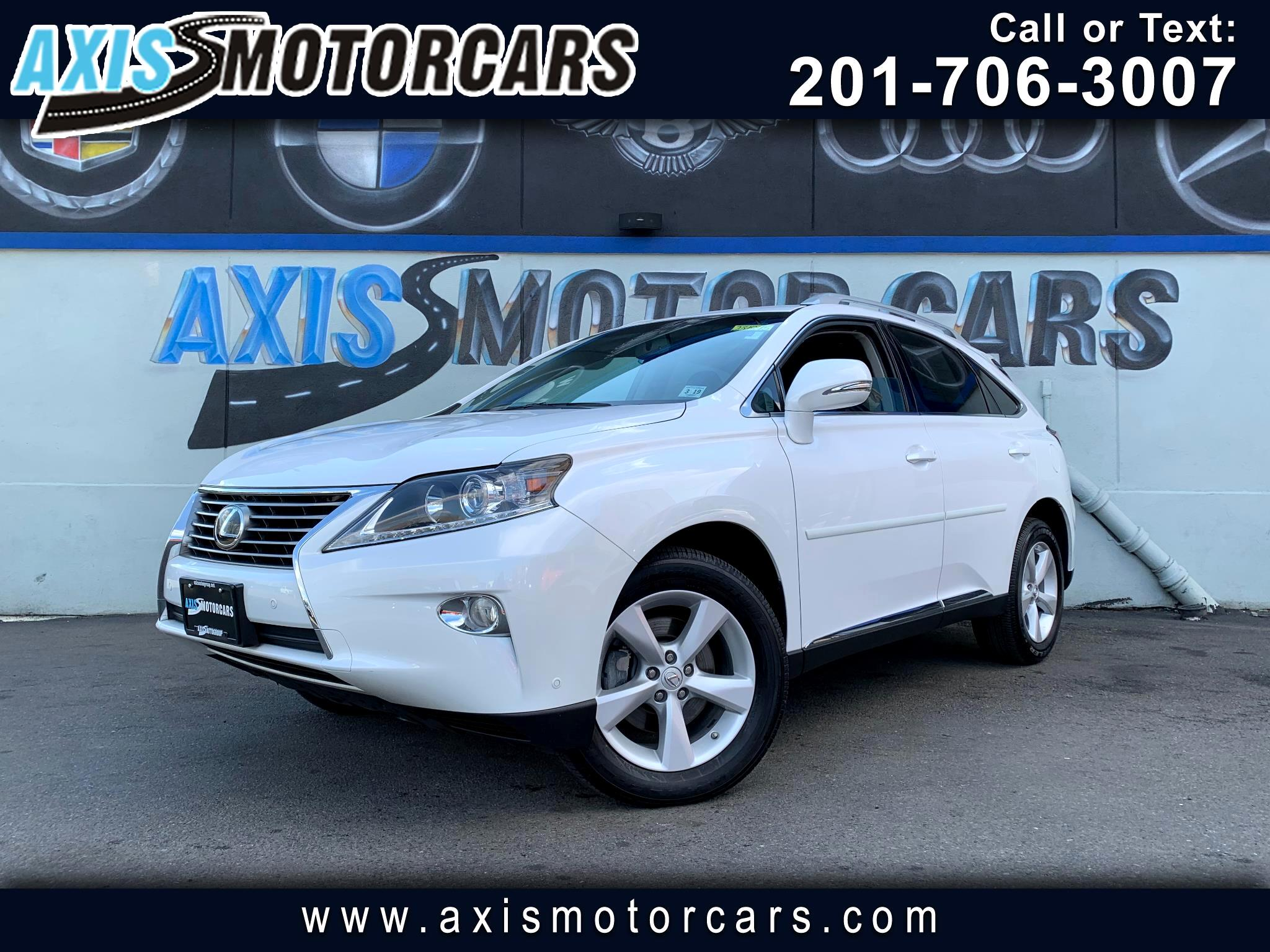2014 Lexus RX 350 w/Sun Roof Leather