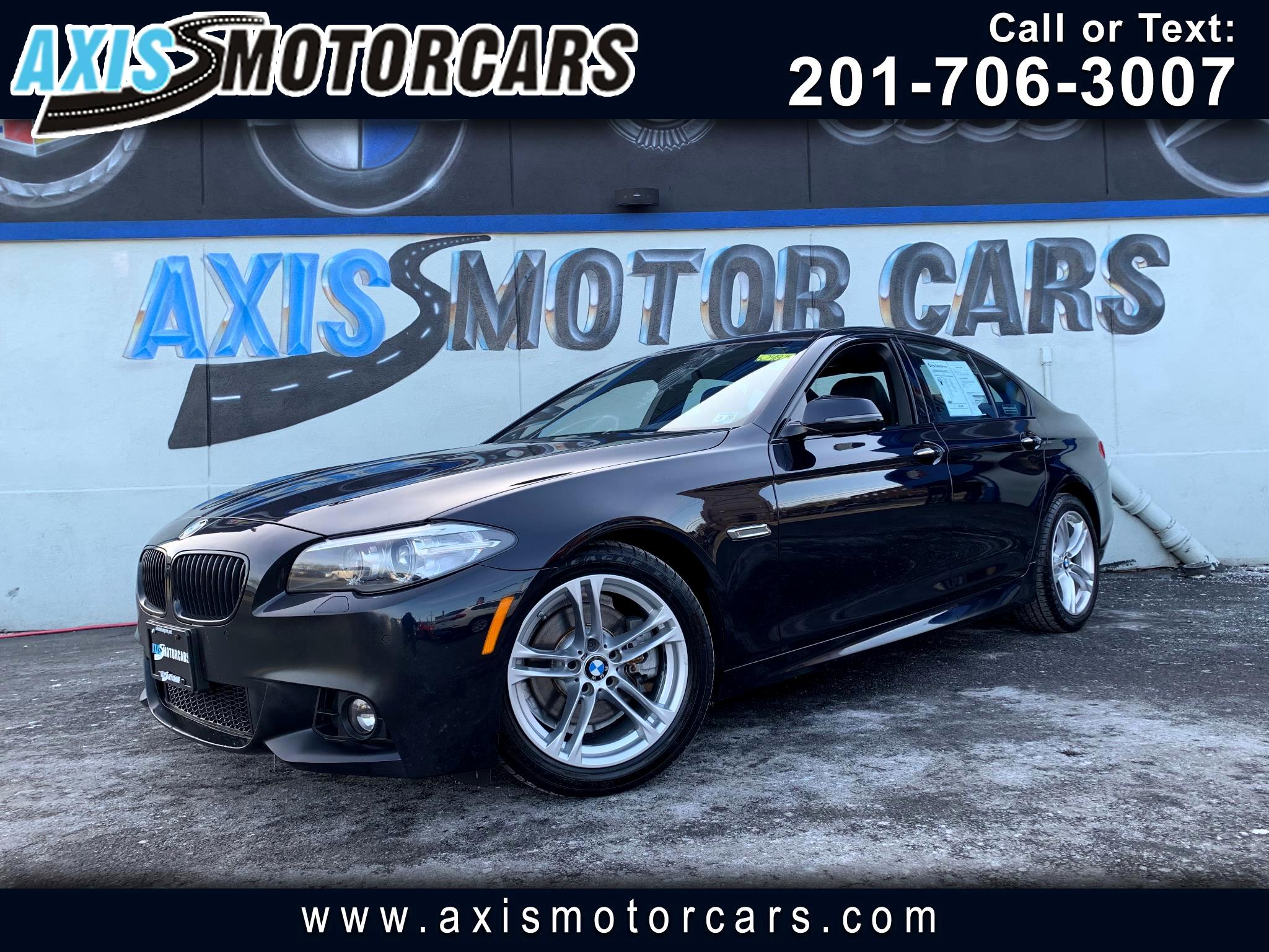 2015 BMW 528i M Sports Premium Navigation Sunroof Backup