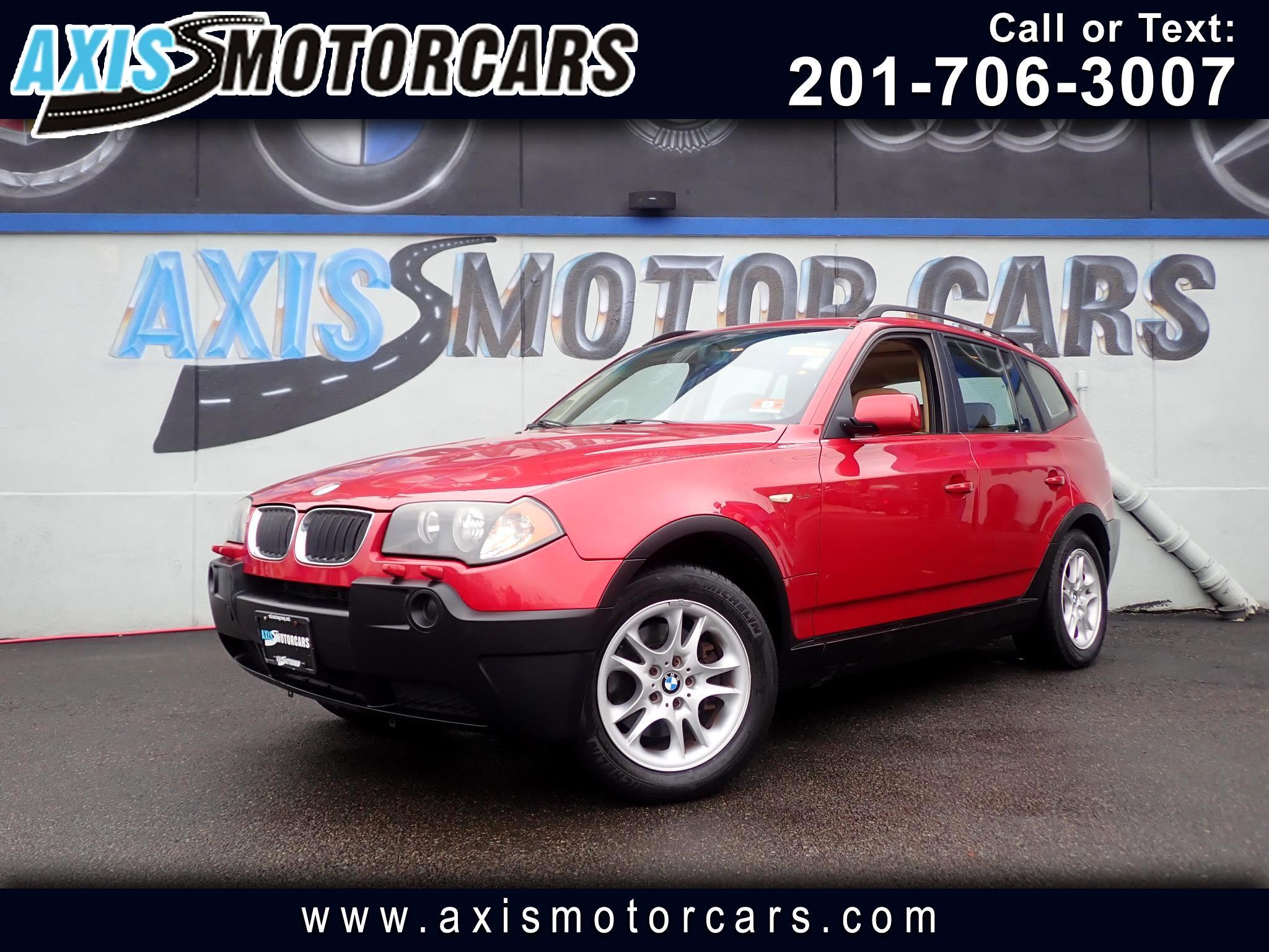 2004 BMW X3 AWD 2.5i