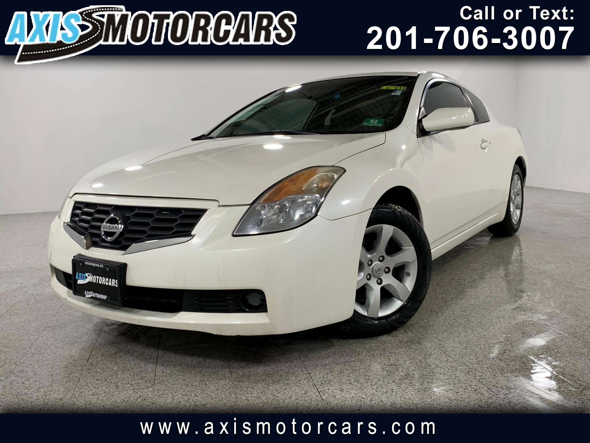 2008 Nissan Altima 2dr Cpe I4 CVT 2.5 S w/Sun Roof