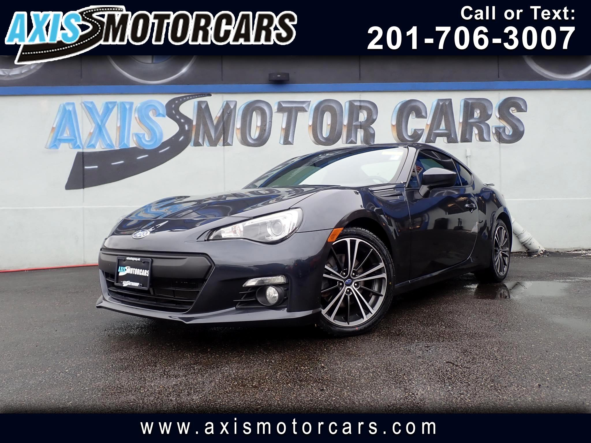 2013 Subaru BRZ 2.0 Limited Cpe w/Navigation Leather
