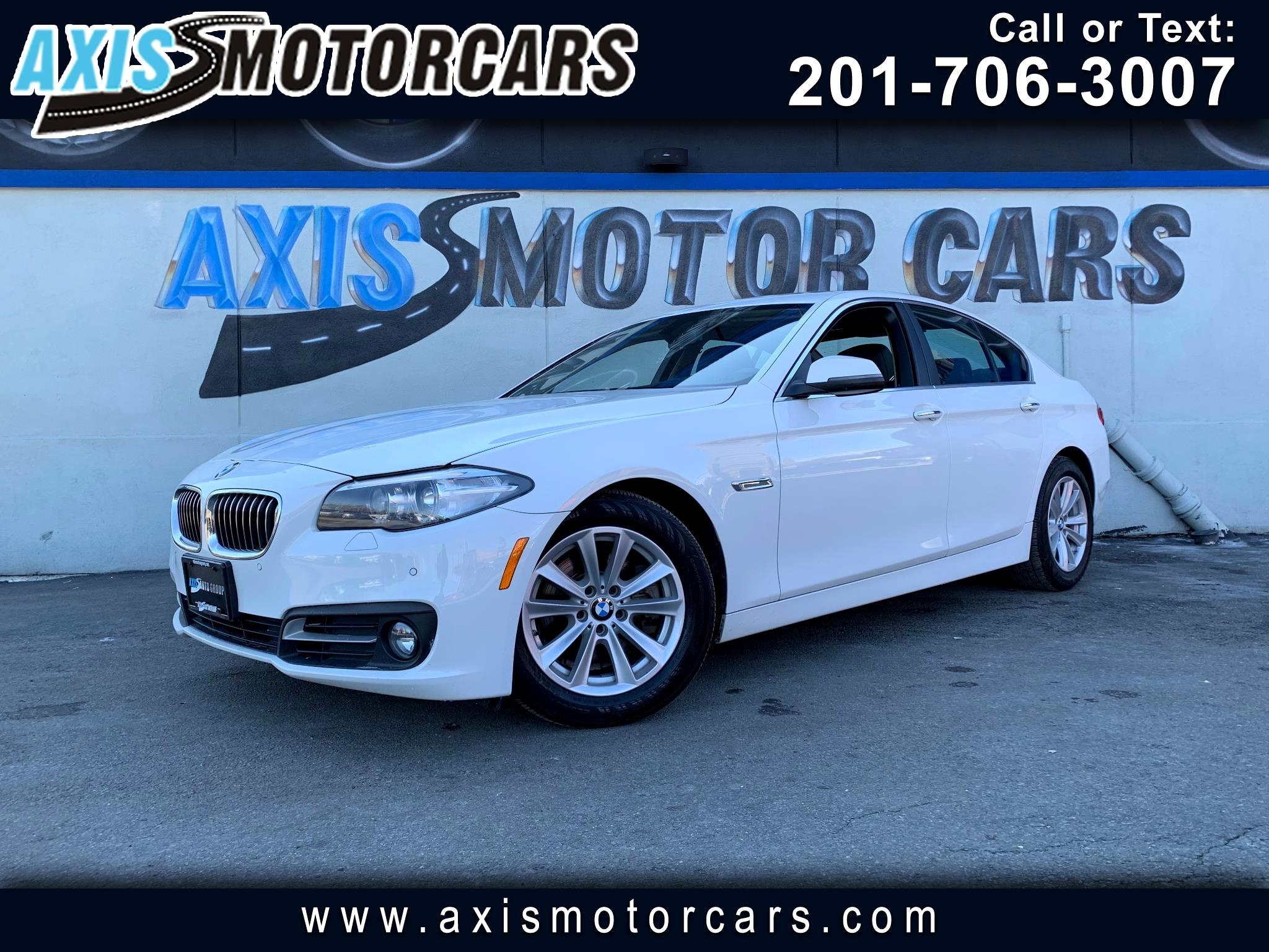 2016 BMW 528i w/Harman Kardon System Backup Camera Navigation