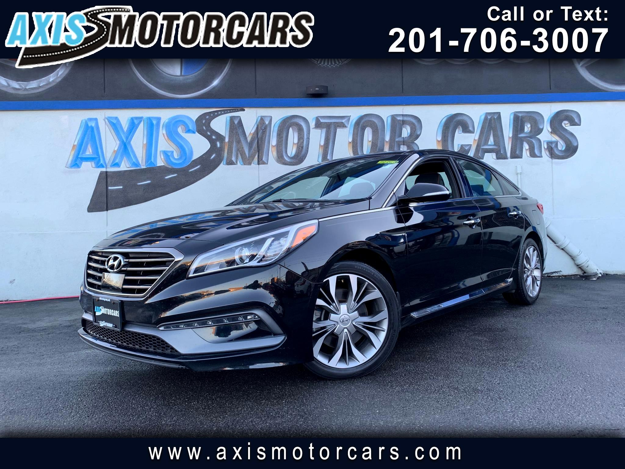 2015 Hyundai Sonata Limited w/Navigation Bakup Camera Panoramic Roof