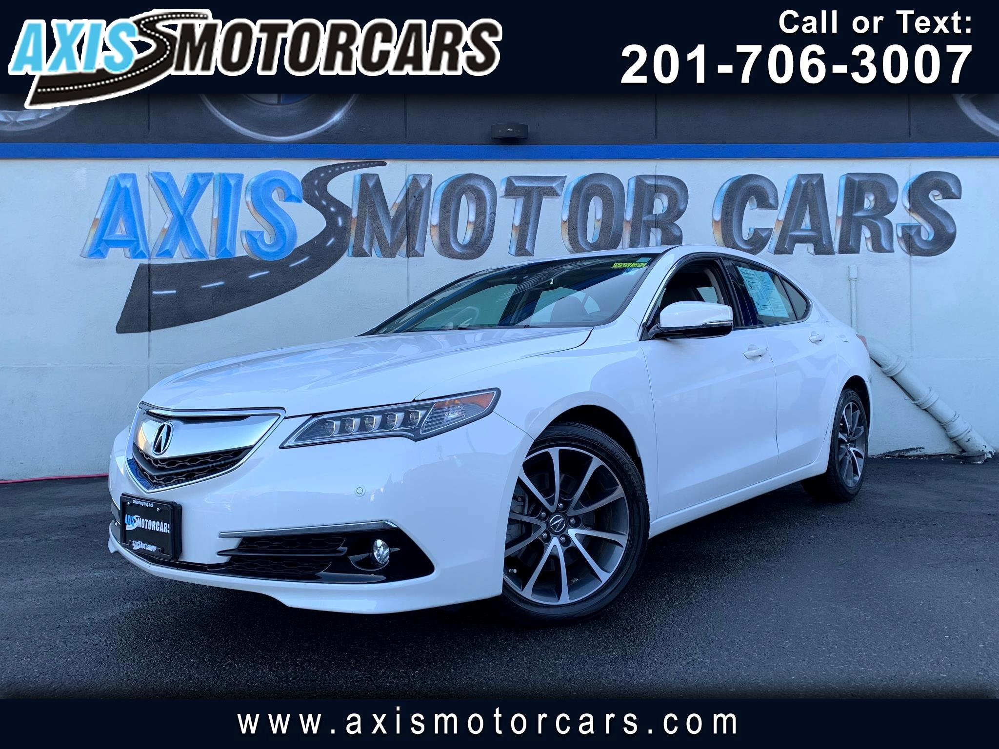 2015 Acura TLX w/Navigation Bakup Camera Sun Roof