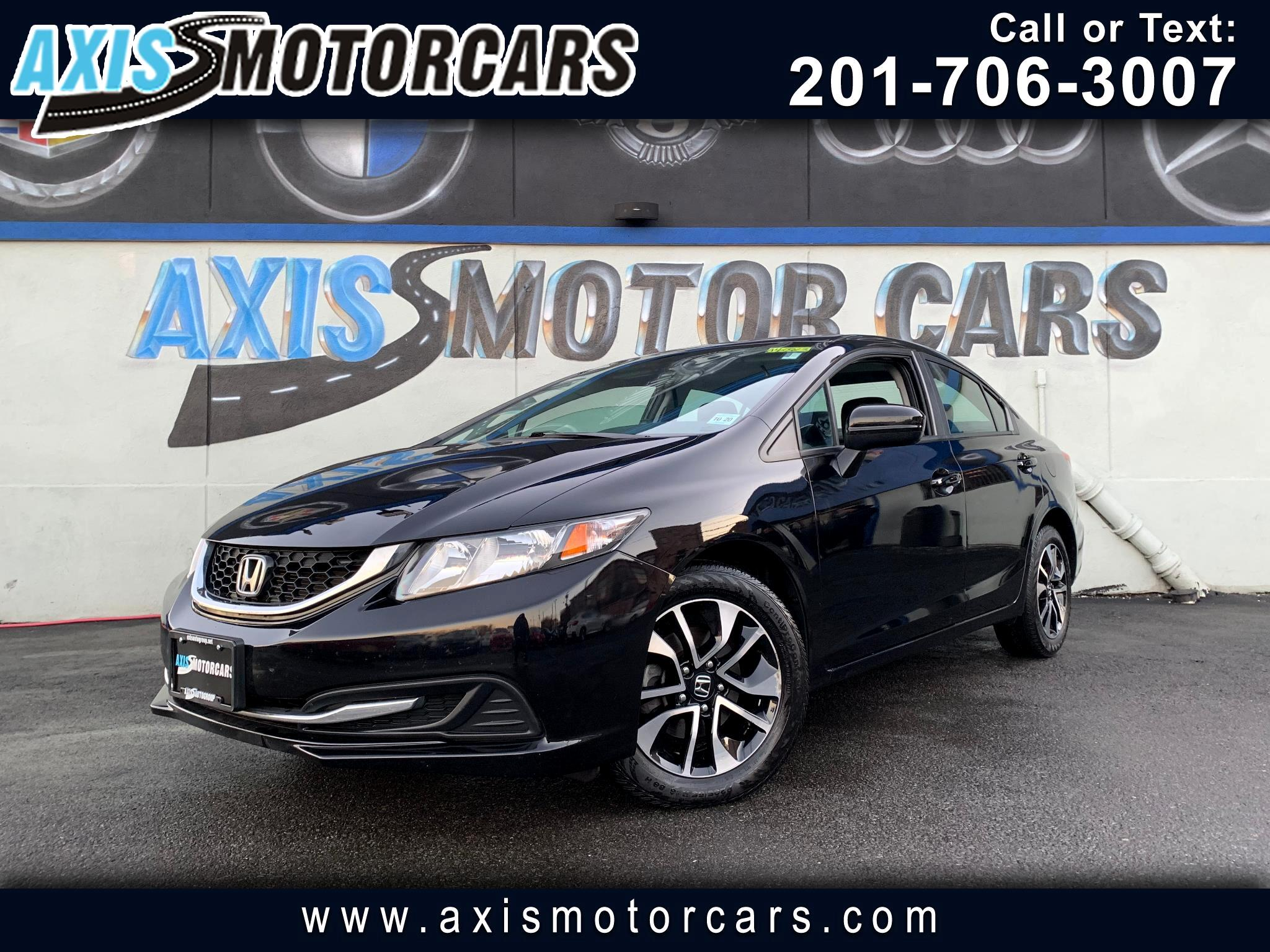 2015 Honda Civic EX w/Bakup Camera