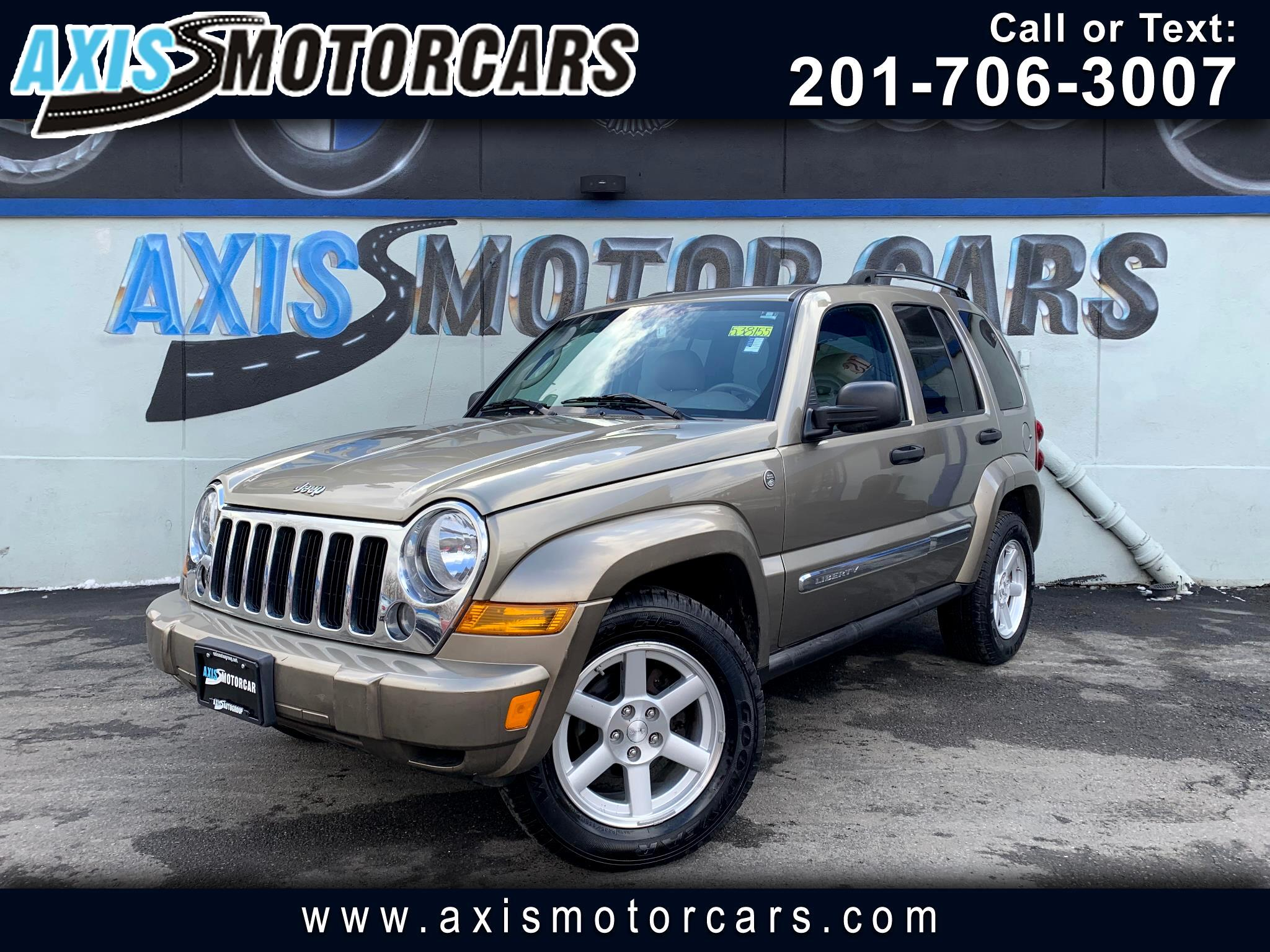 2007 Jeep Liberty Limited w/Sun Roof Leather