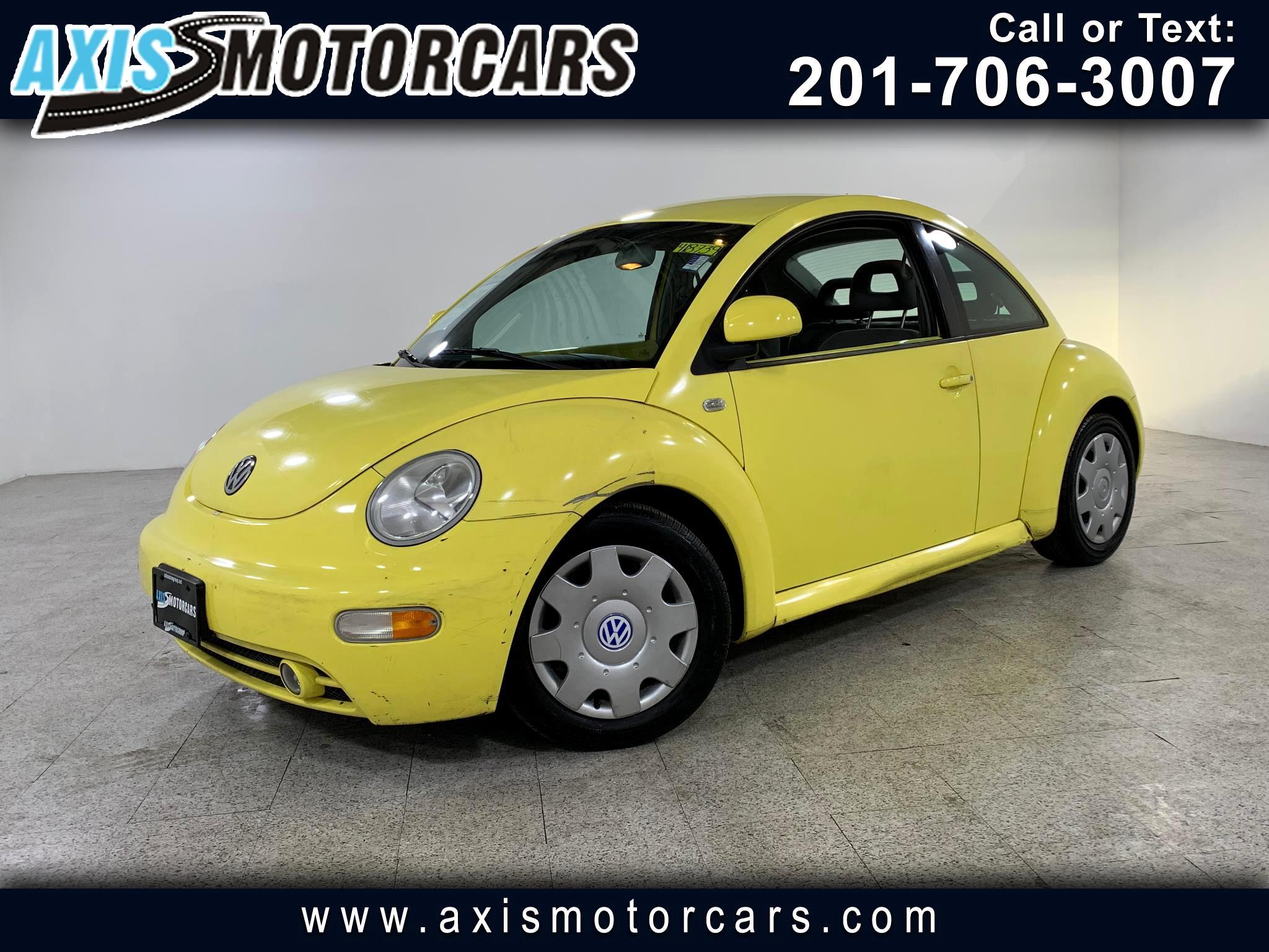 1999 Volkswagen New Beetle 2dr Cpe GLS