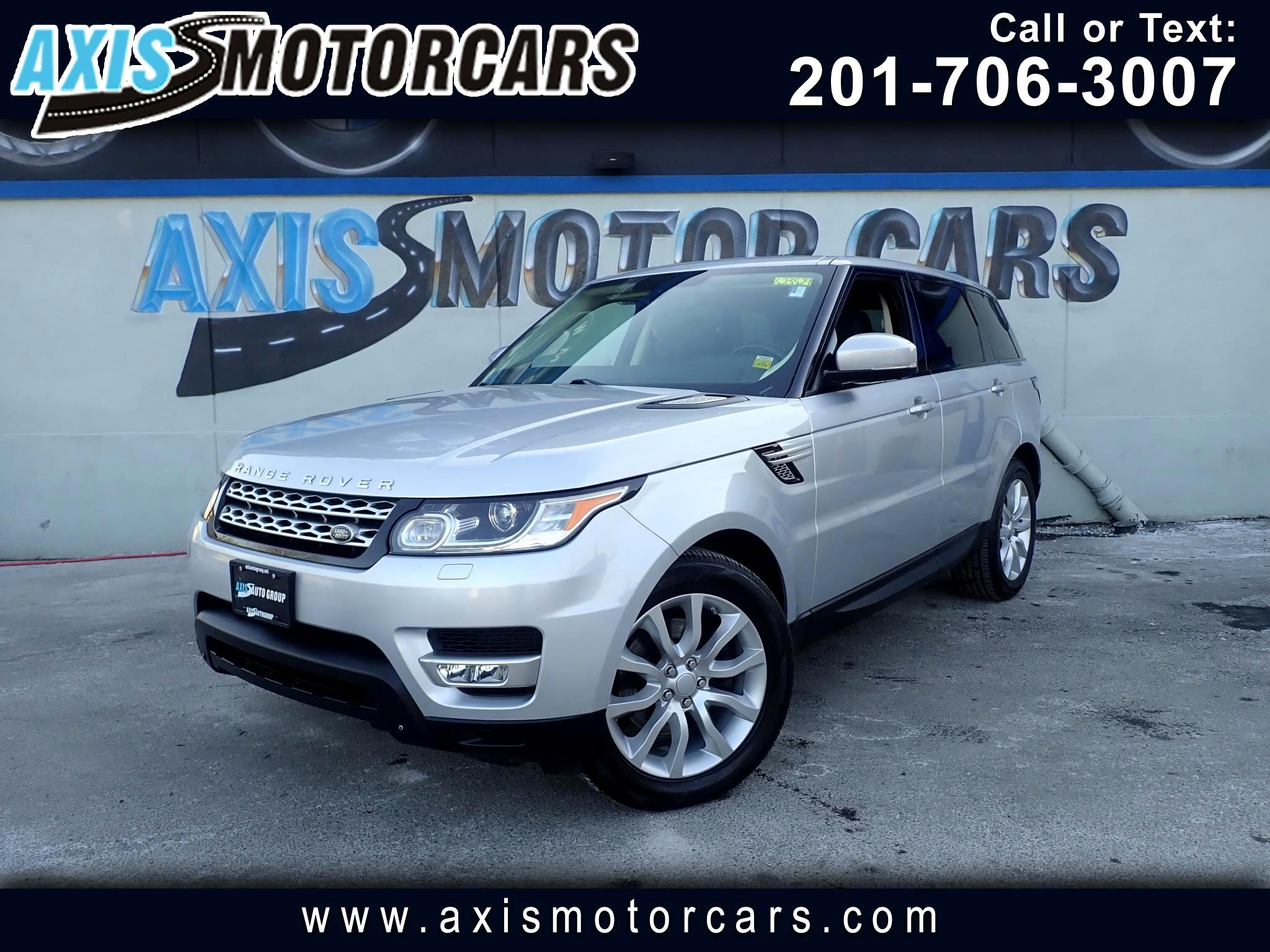 2015 Land Rover Range Rover Sport HSE w/Panoramic Roof Navigation Backup Camera