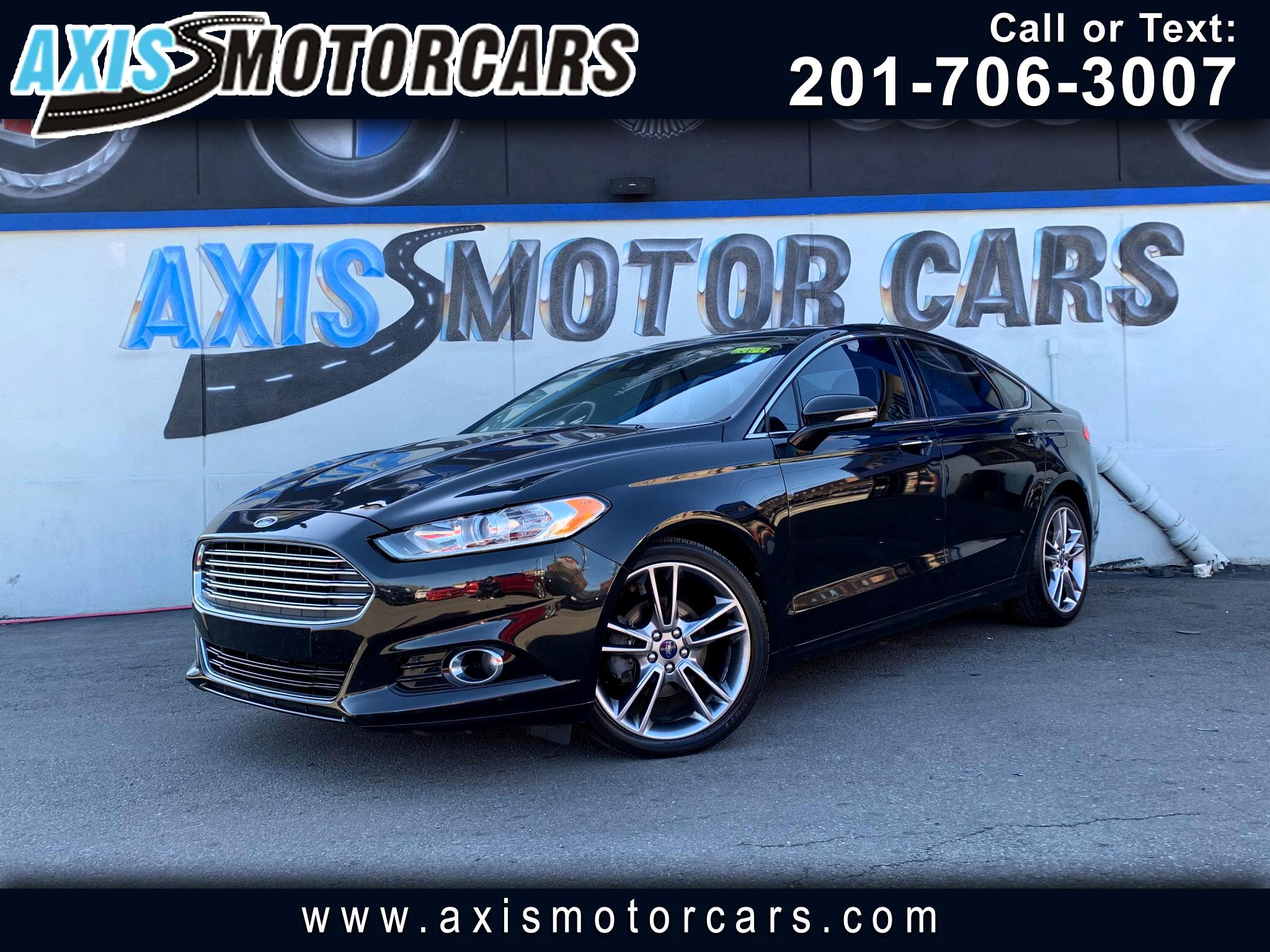 2013 Ford Fusion Titanium w/Navigation Sun Roof