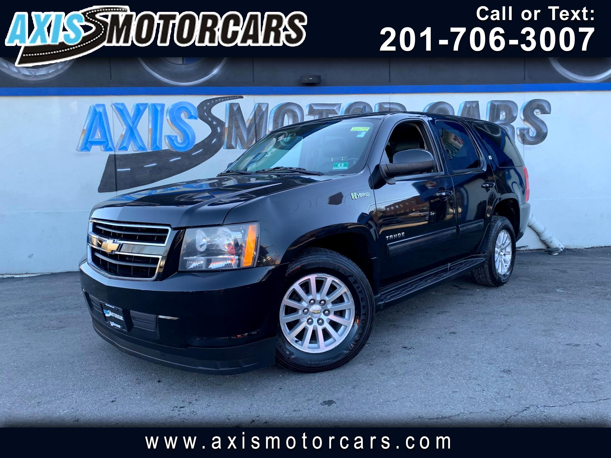 2010 Chevrolet Tahoe Hybrid w/Rear Entertainment System Navigation