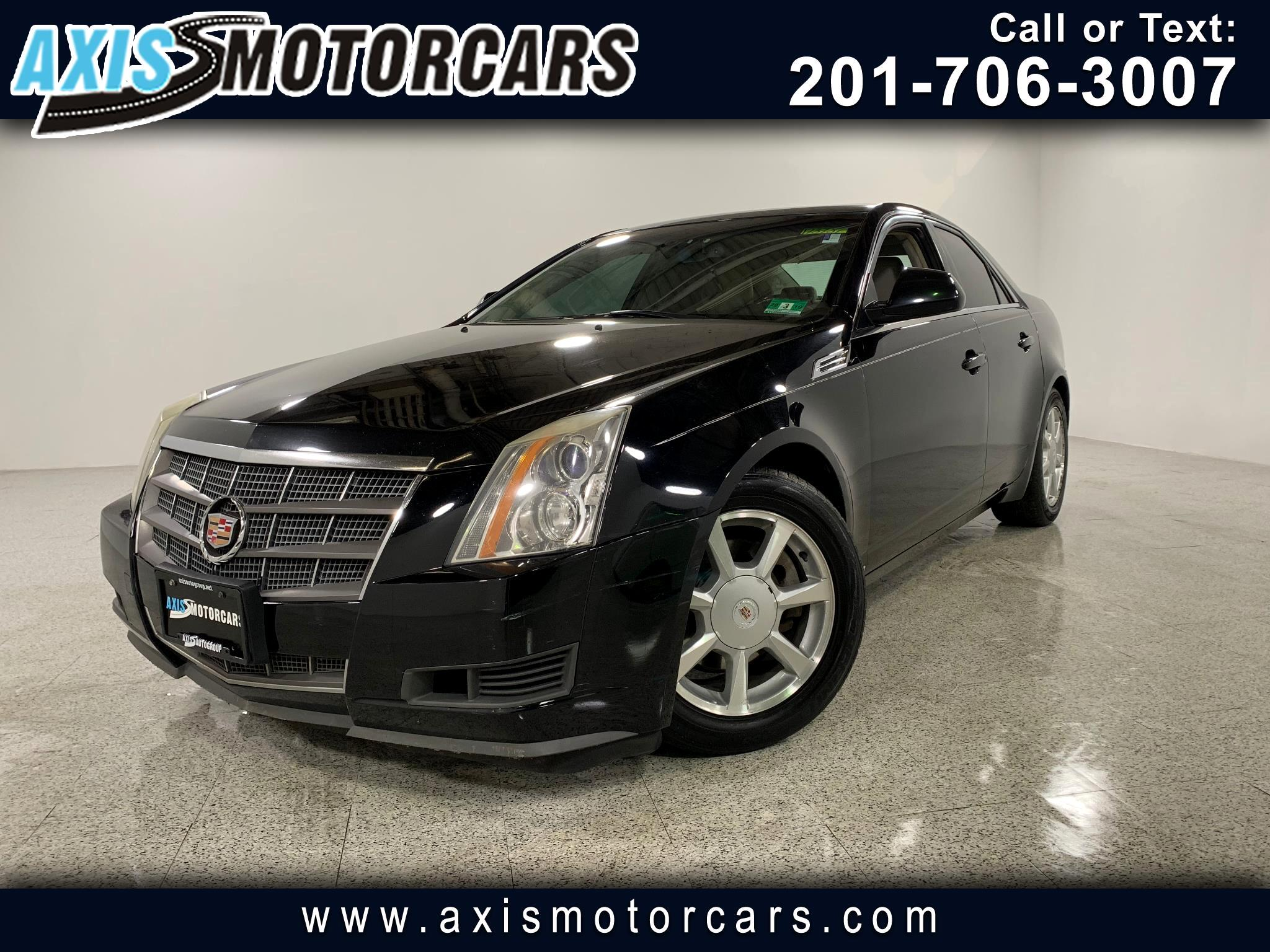 2008 Cadillac CTS w/Panoramic Roof Bose Sound System Navigation