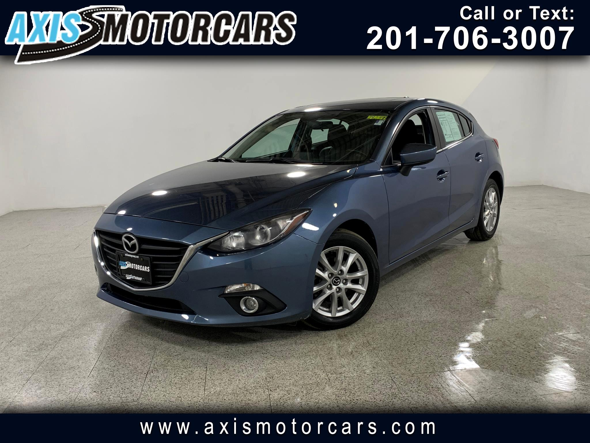 2015 Mazda MAZDA3 Grand Touring w/Bose Sound System Navigation