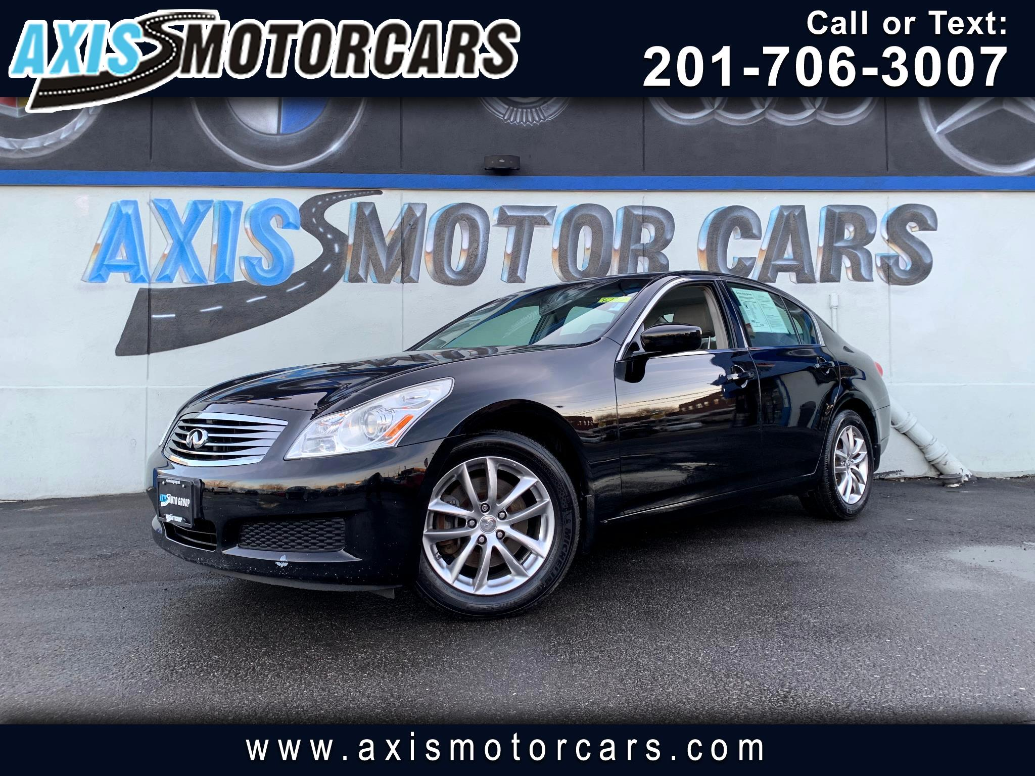 2009 Infiniti G37X w/Sunroof Navigation Bakup Camera Bose Sound Syste