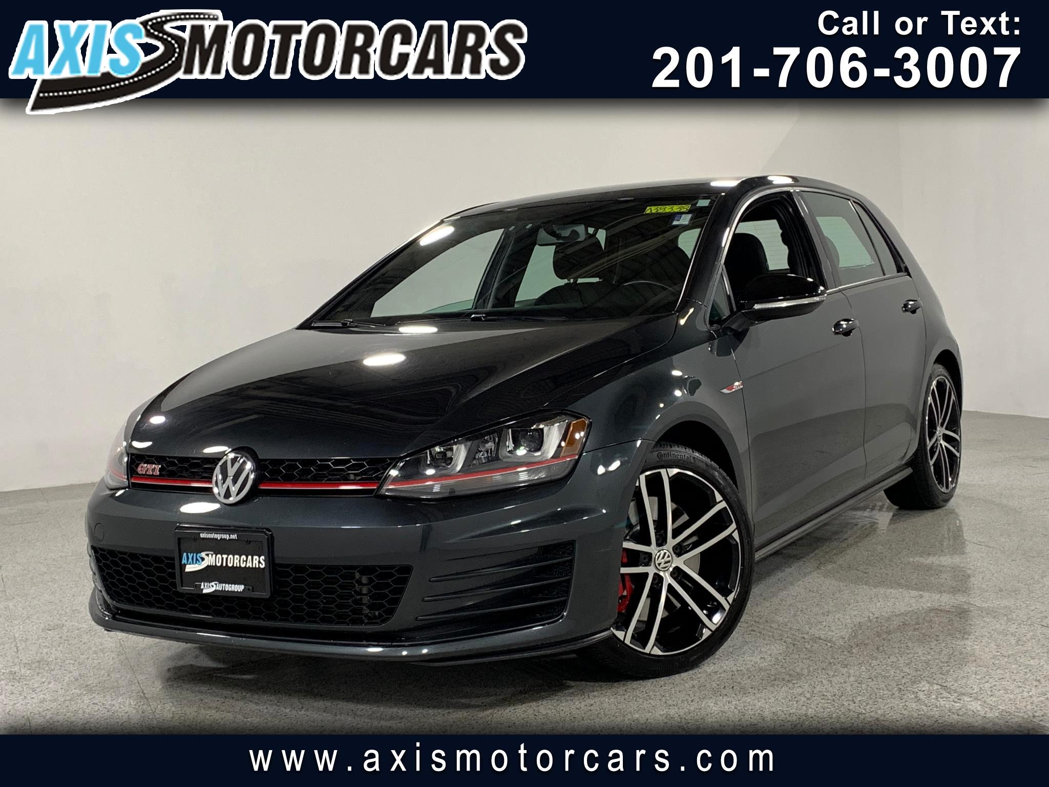 2017 Volkswagen Golf GTI 2.0T 4-Door S Manual