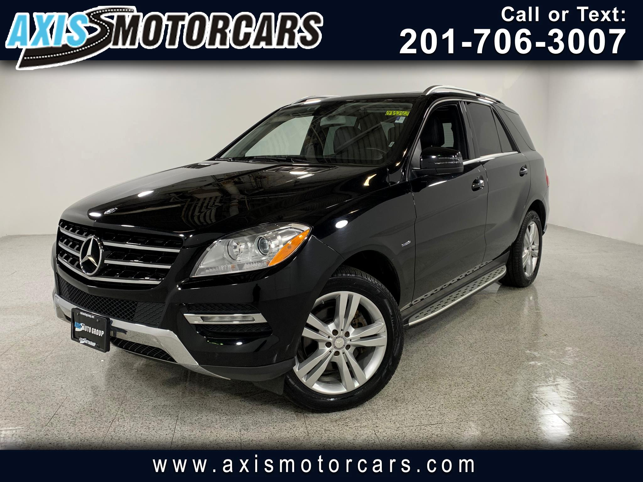 2012 Mercedes-Benz ML350 4MATIC w/Sunroof Navigation Bakup Camera