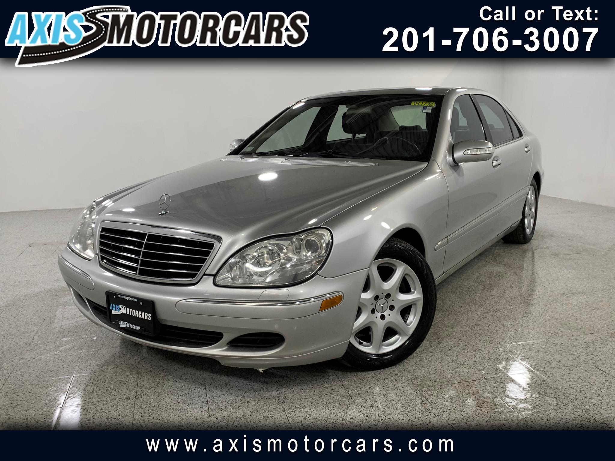 2003 Mercedes-Benz S-Class S430 w/Navigation Bose Sound System Sunroof