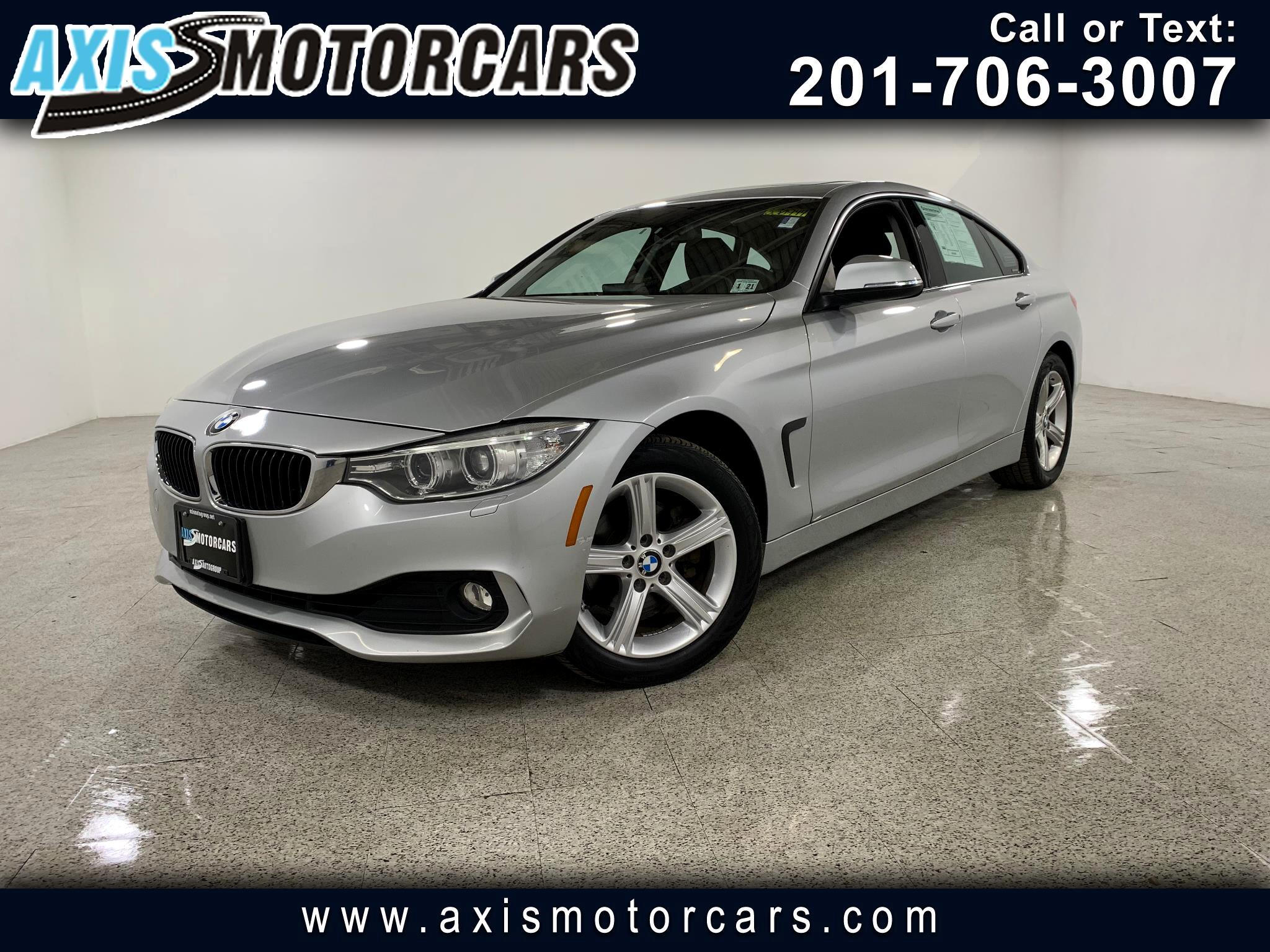 2015 BMW 428i w/Sunroof Navigation Leather