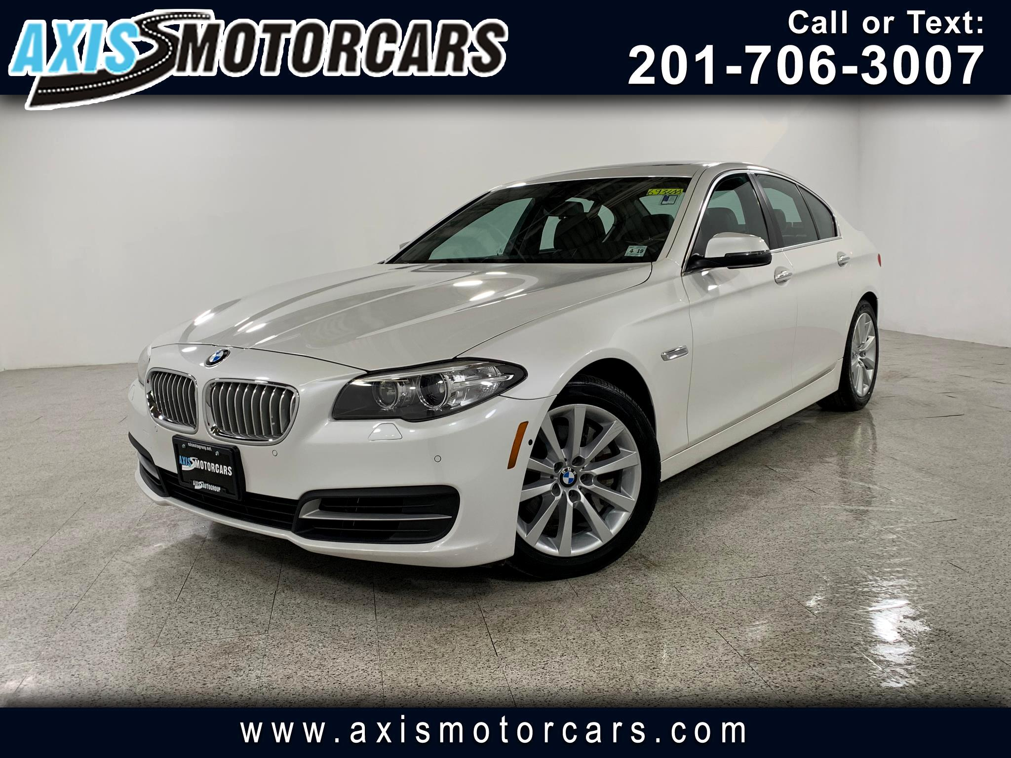 2014 BMW 550i w/Sunroof Harman Kardon Sound System Navigation
