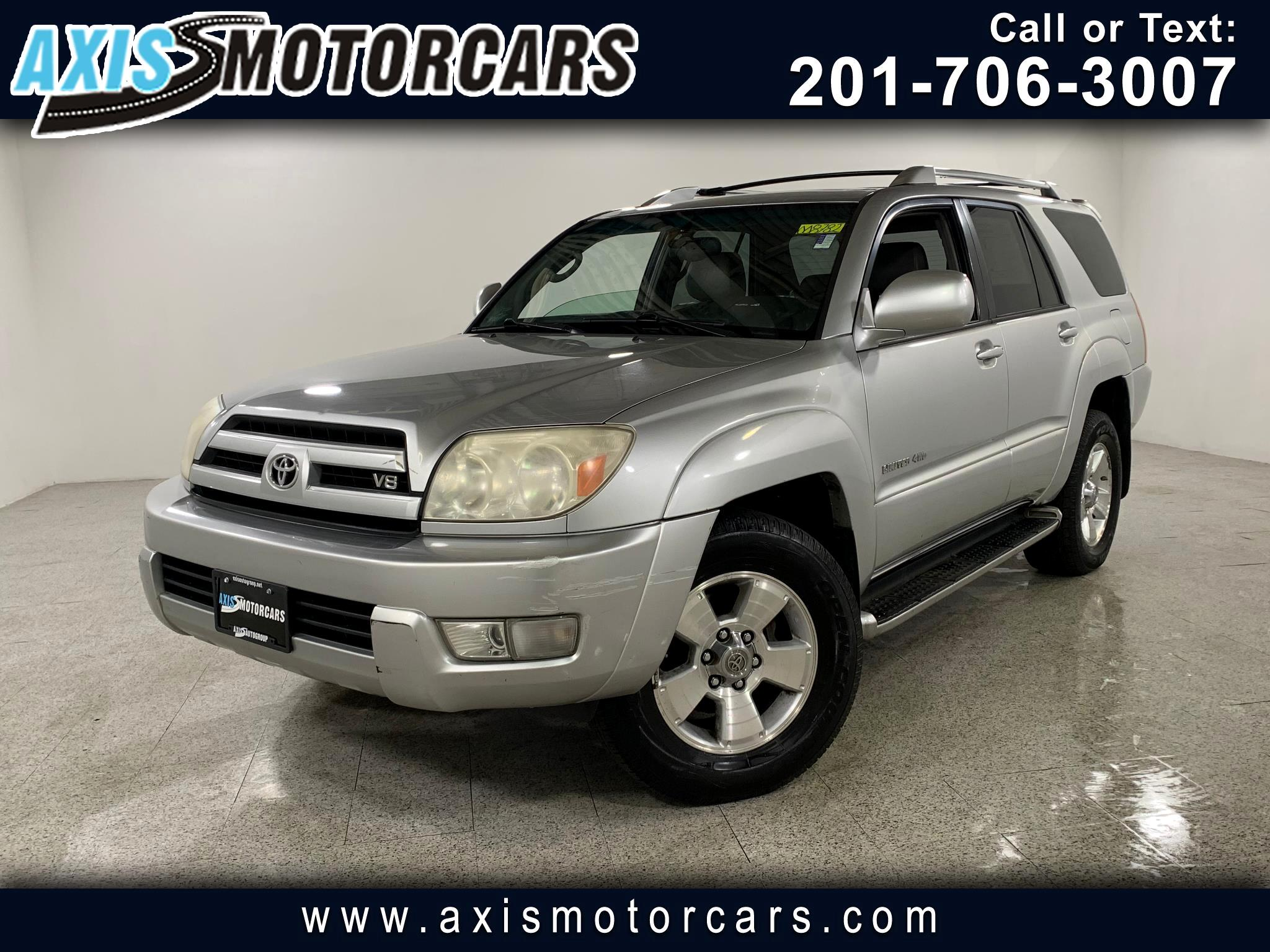 2004 Toyota 4Runner w/Sunroof Navigation Bakup Camera Leather