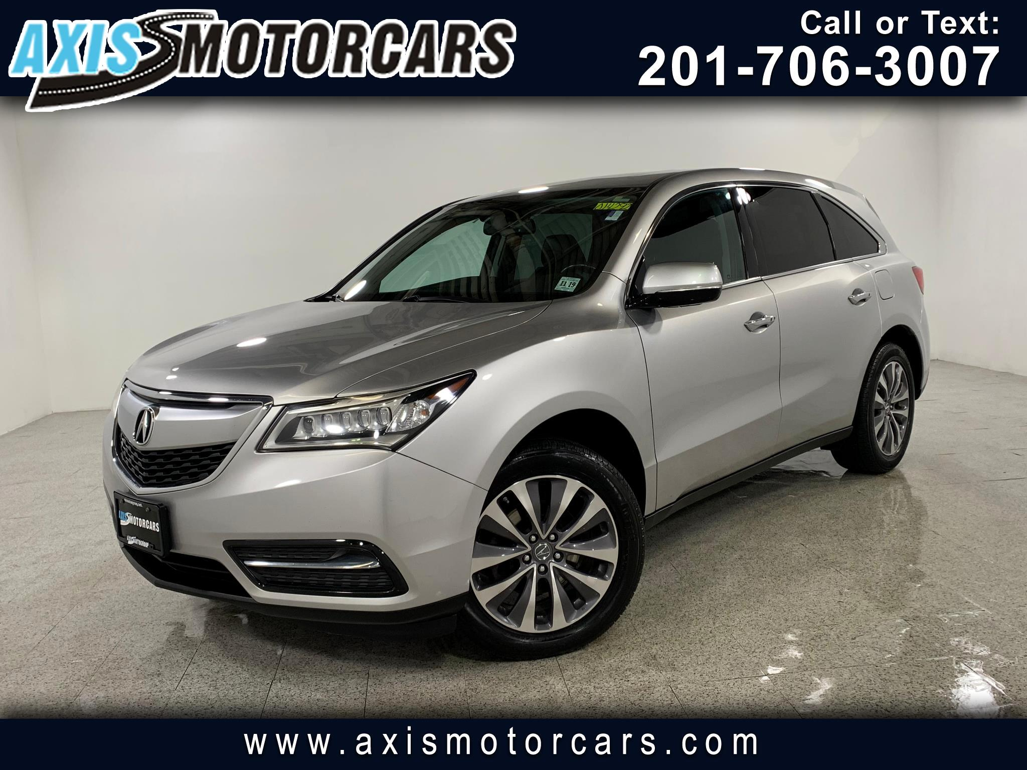 2014 Acura MDX SH-AWD Tech w/Navigation Bakup Camera